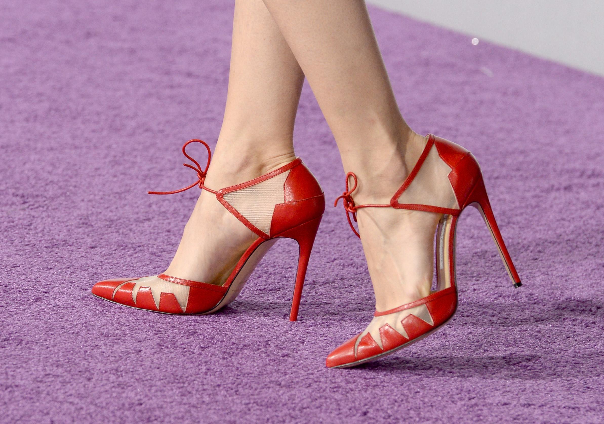 girls purple heels