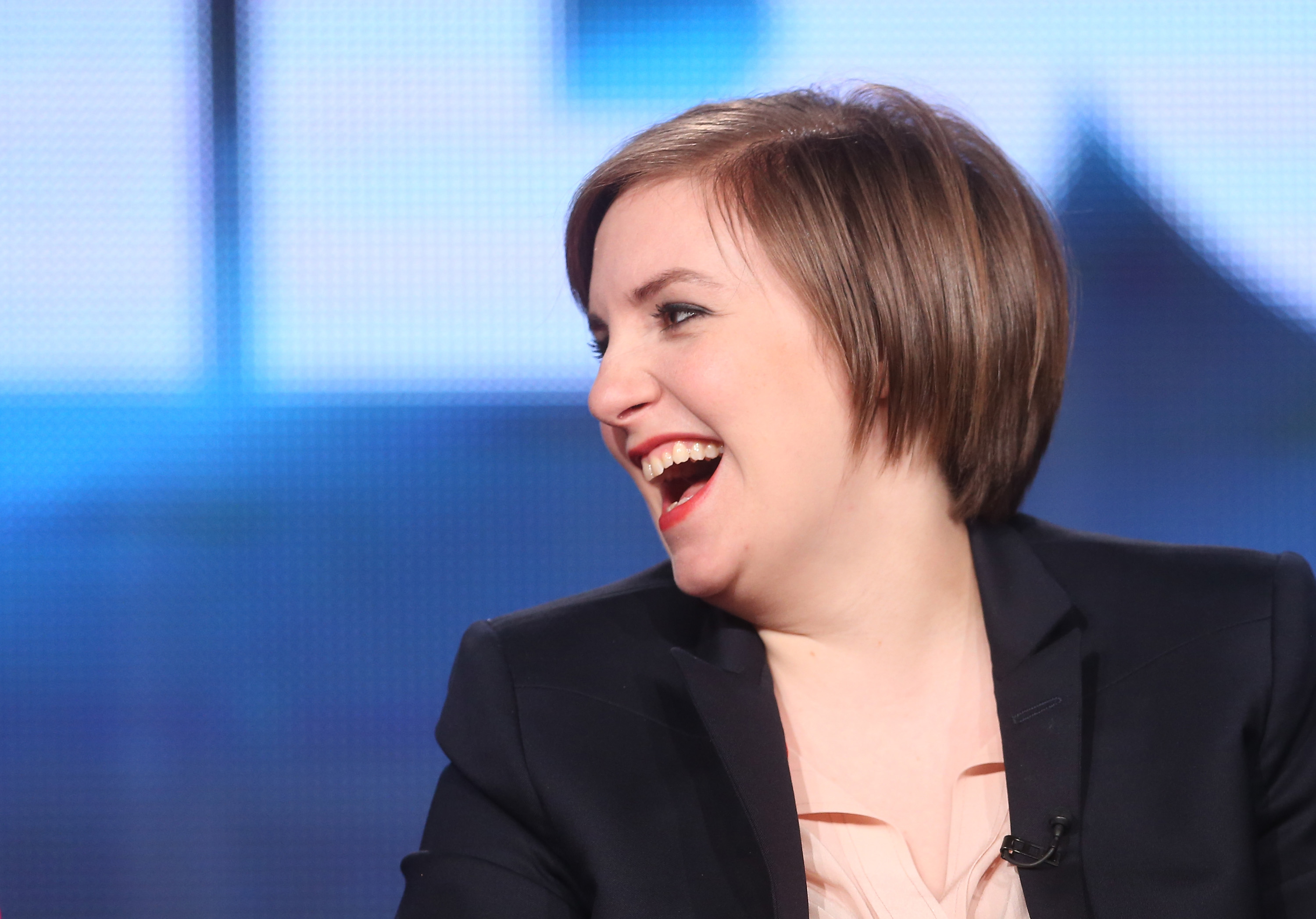 Lena Dunham Reveals Platinum Blonde Bowl Cut Channels Sia Once Again