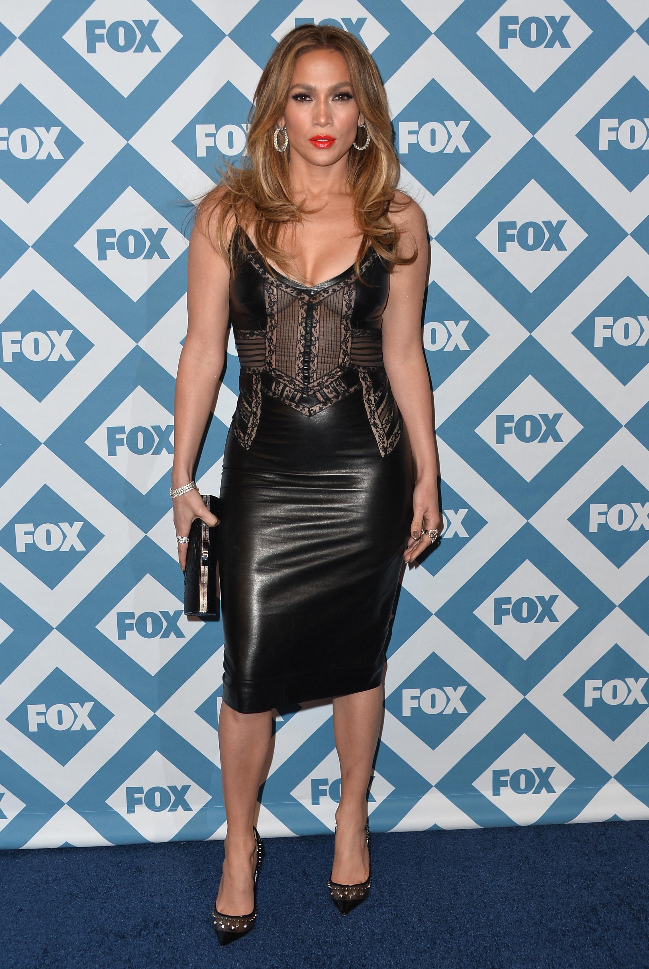 11 Jennifer Lopez Little Black Dress Moments, Because She Really ...