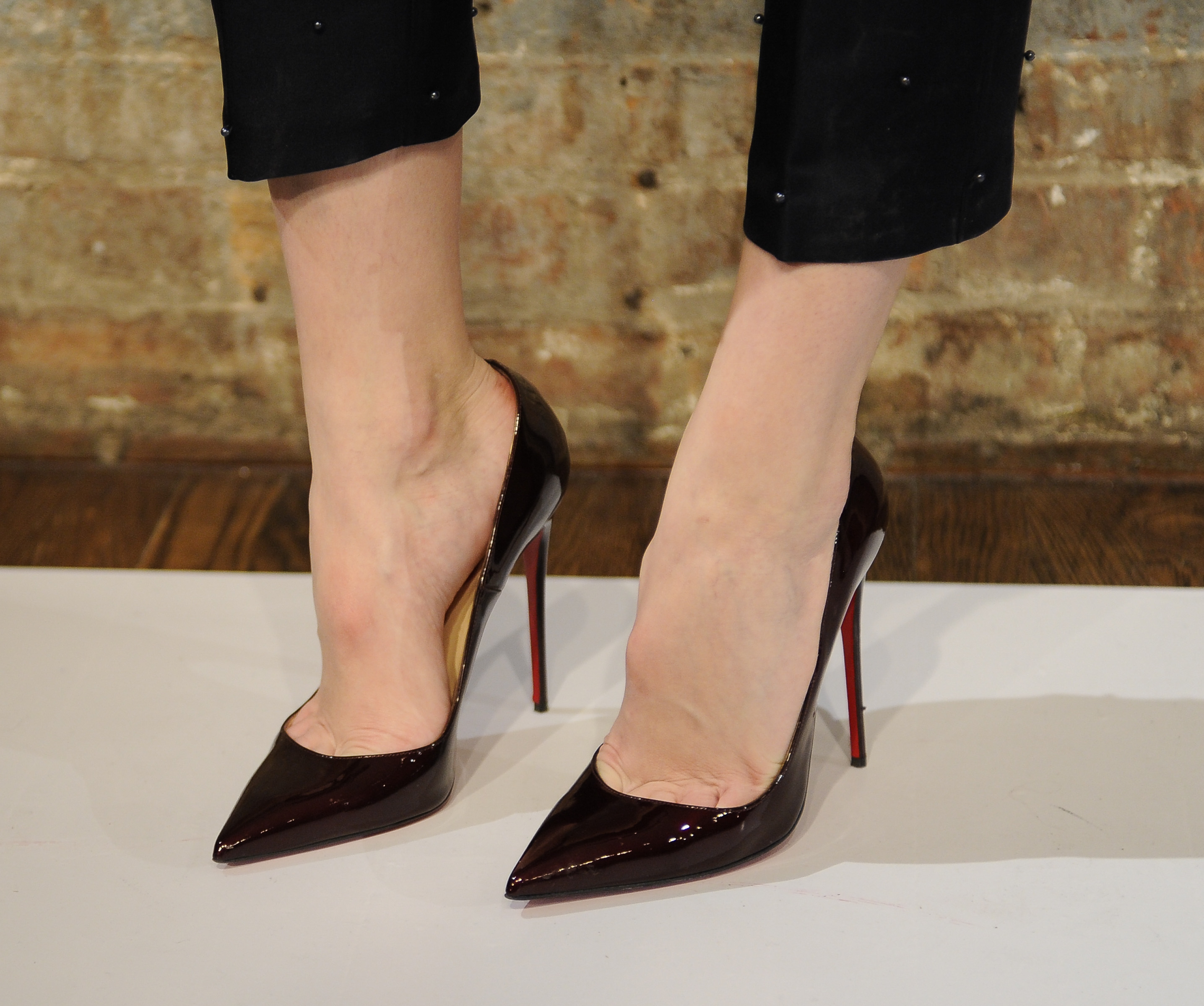 Nice feet in high heels