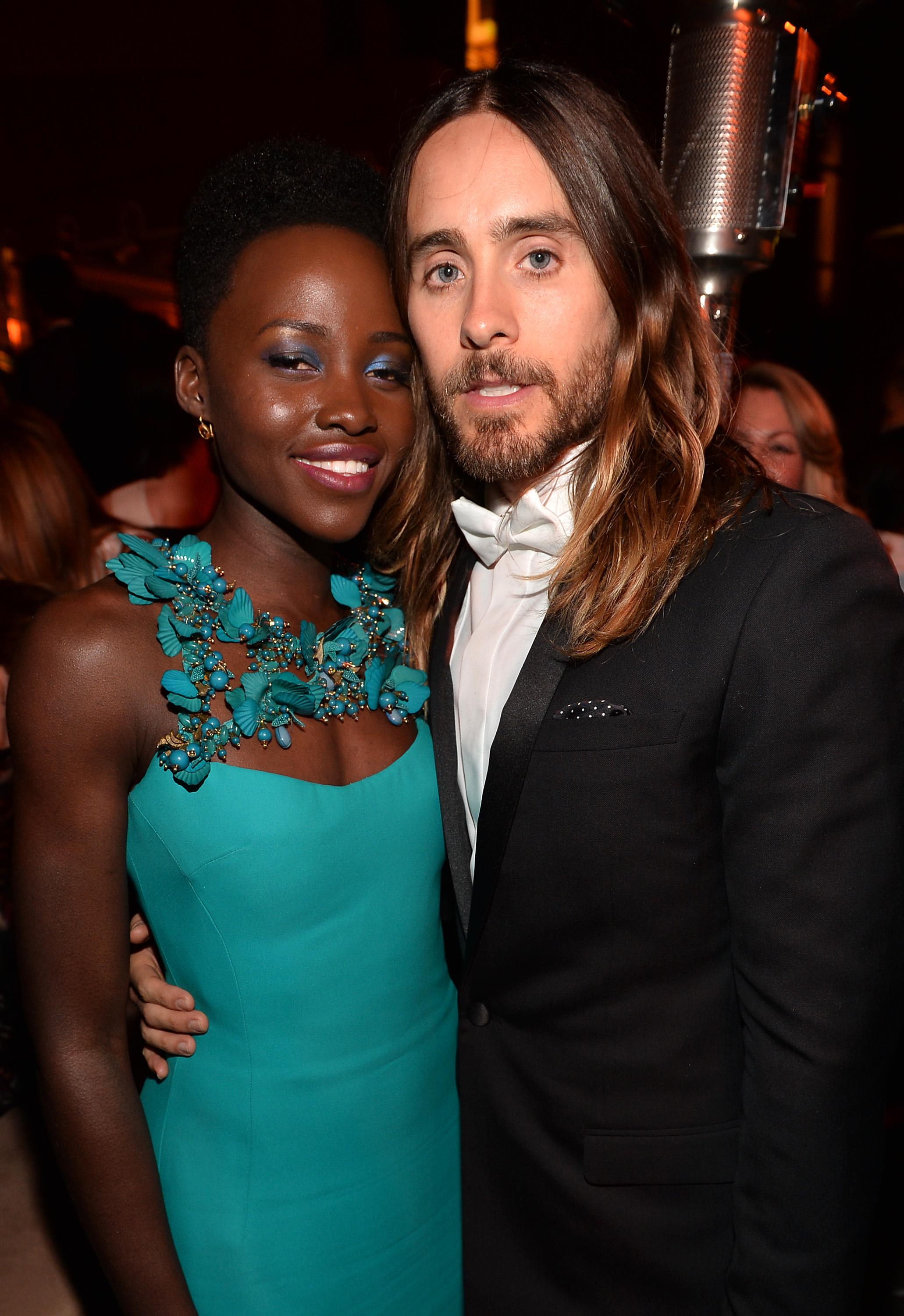 lupita nyongo dating jared leto Jared leto, lupita nyong'o  theory #1: jared and lupita are dating, flat-out they met sometime in the fall and their love blossomed during the awards season.