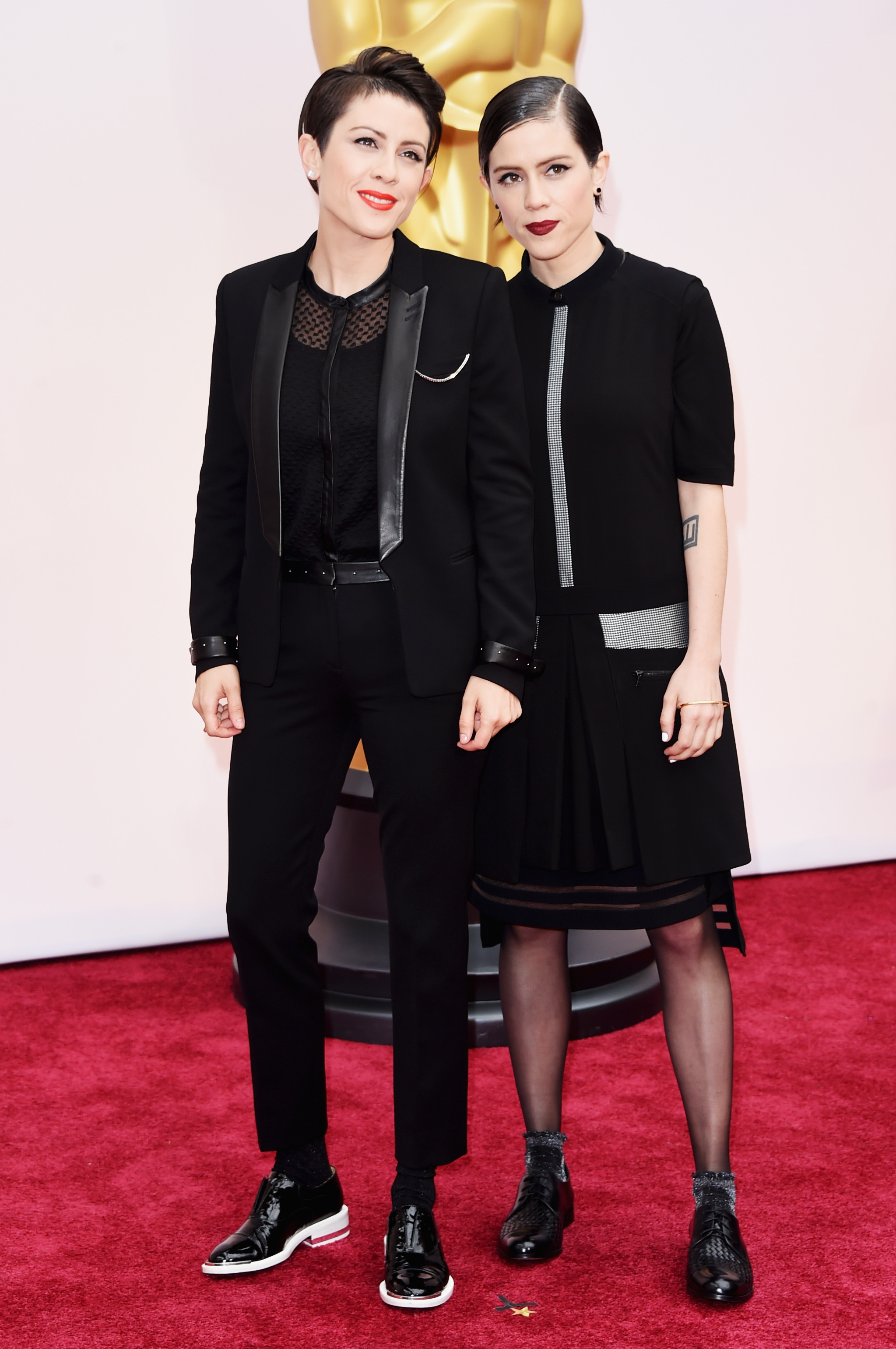Tegan And Sara Grace The Oscars Red Carpet Making All My