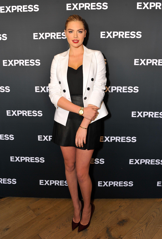Express maxi dress navy kate upton