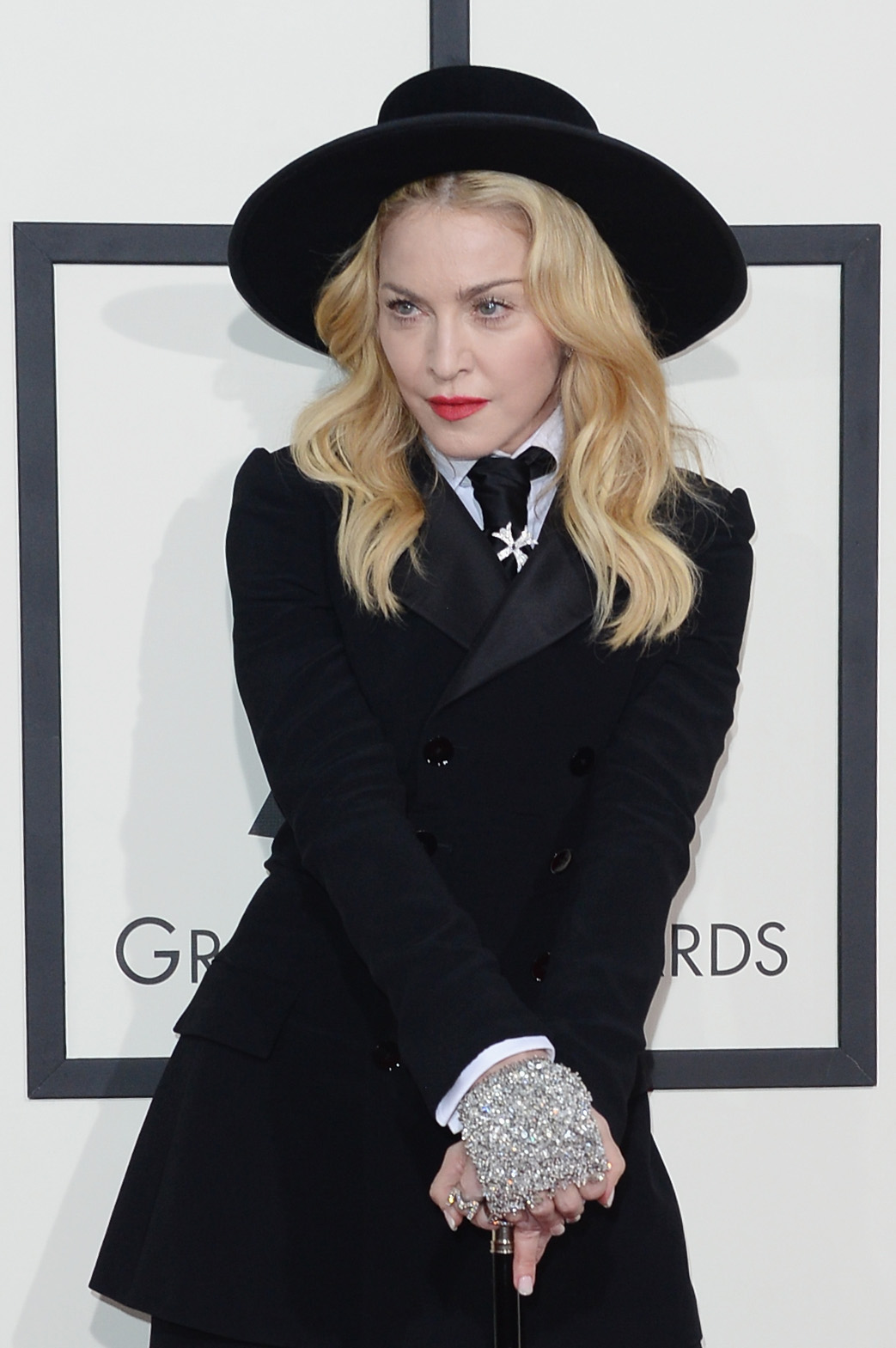 Madonnas Grill at the 2014 Grammys Was Really Not Okay