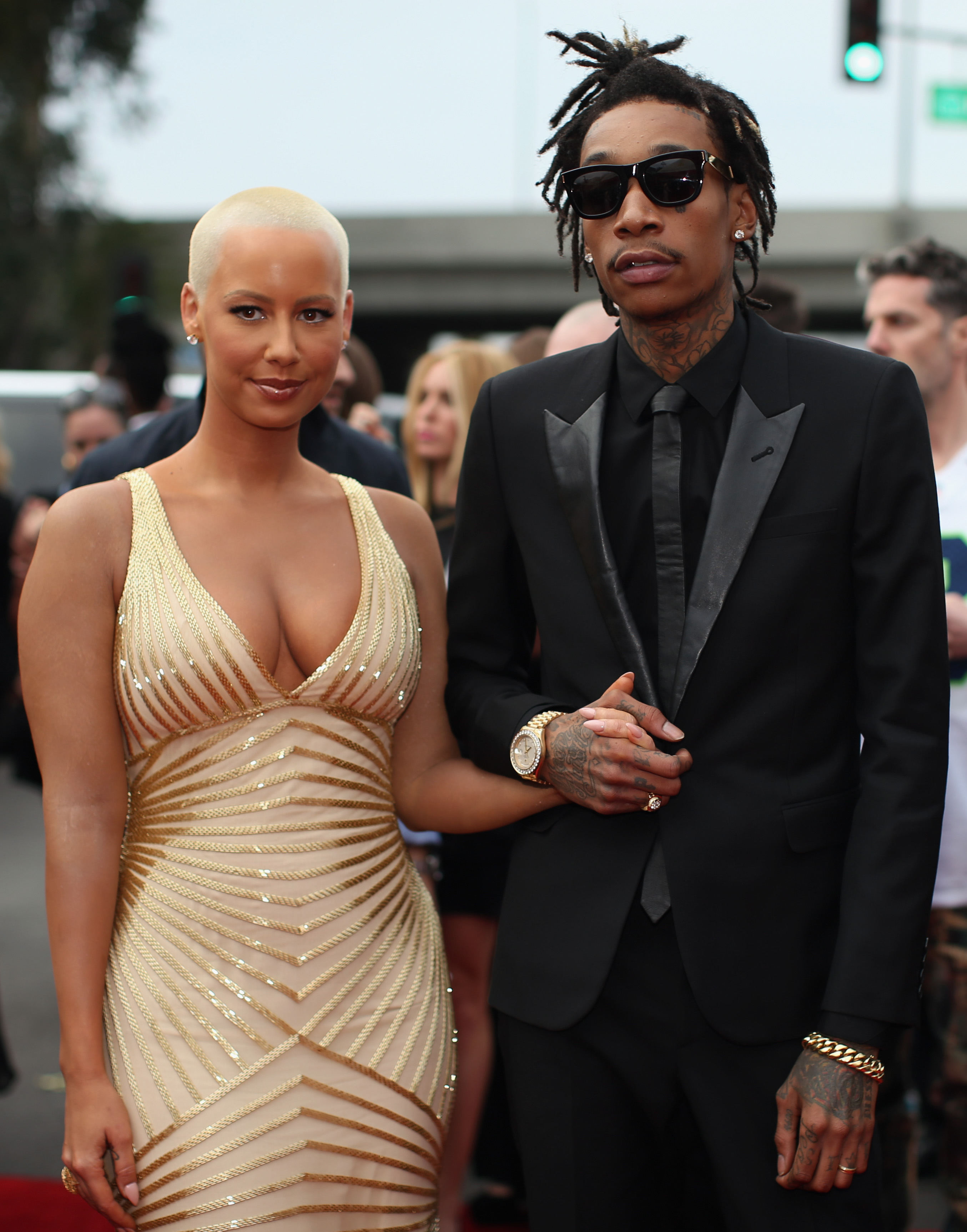 Amber Rose Wiz Khalifa S Wedding Pictures Make It Clear They Re The Next Photos