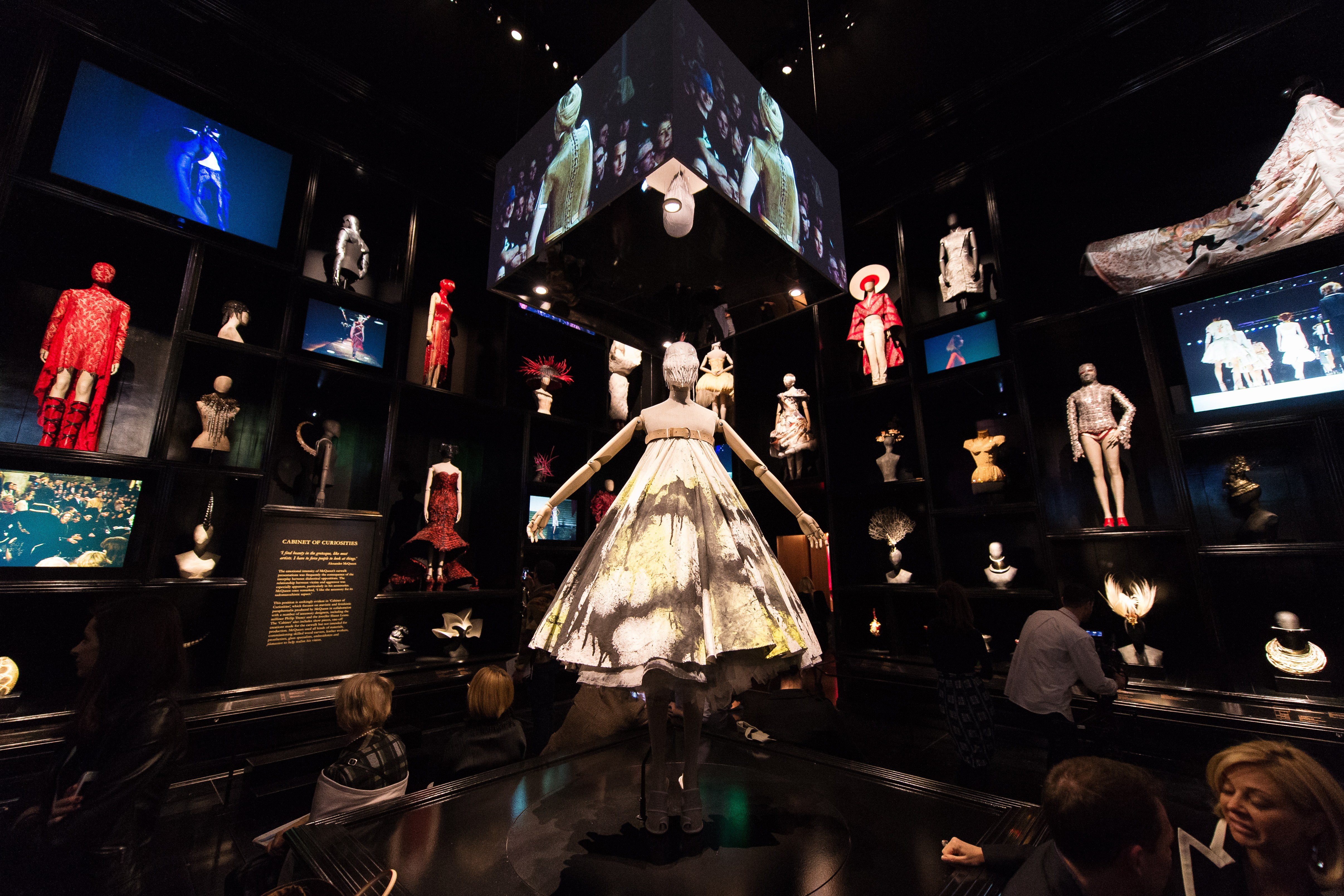 """Fashion Exhibitions Like """"Alexander McQueen: Savage Beauty"""