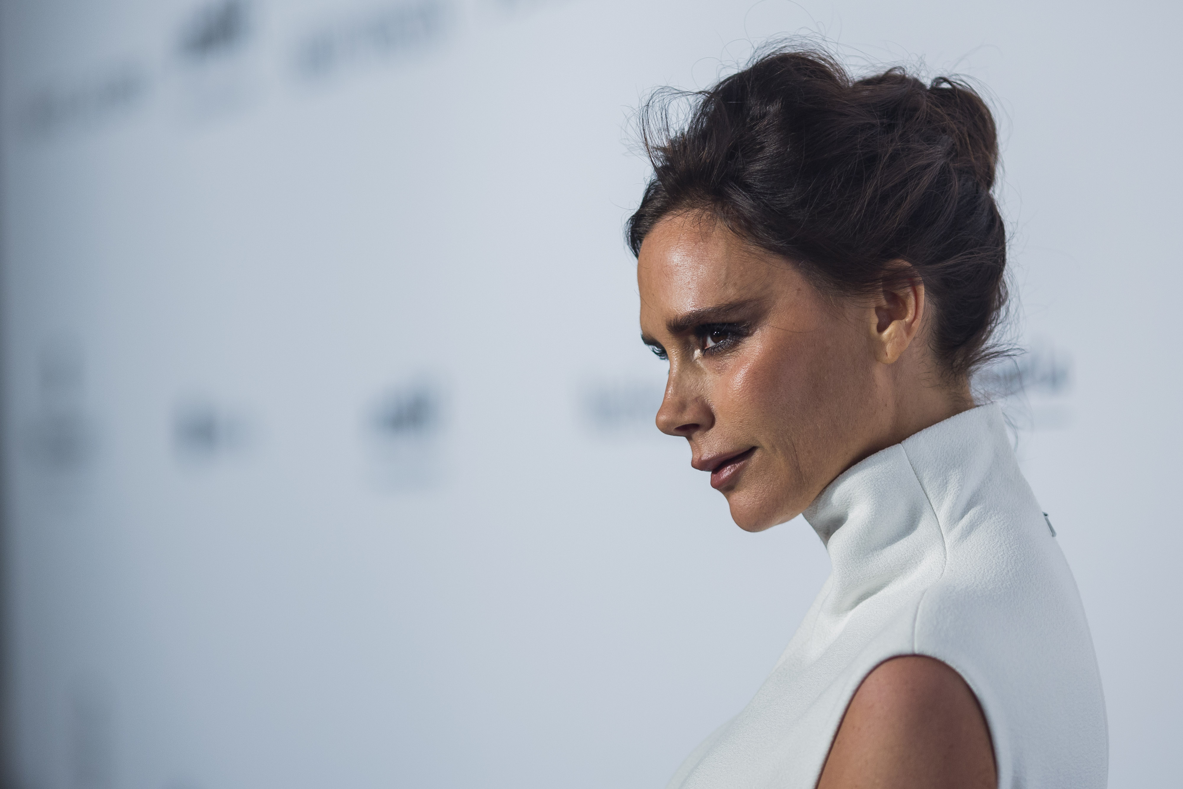 Victoria Beckham Debuts Bangs That Look Exactly Like Audrey