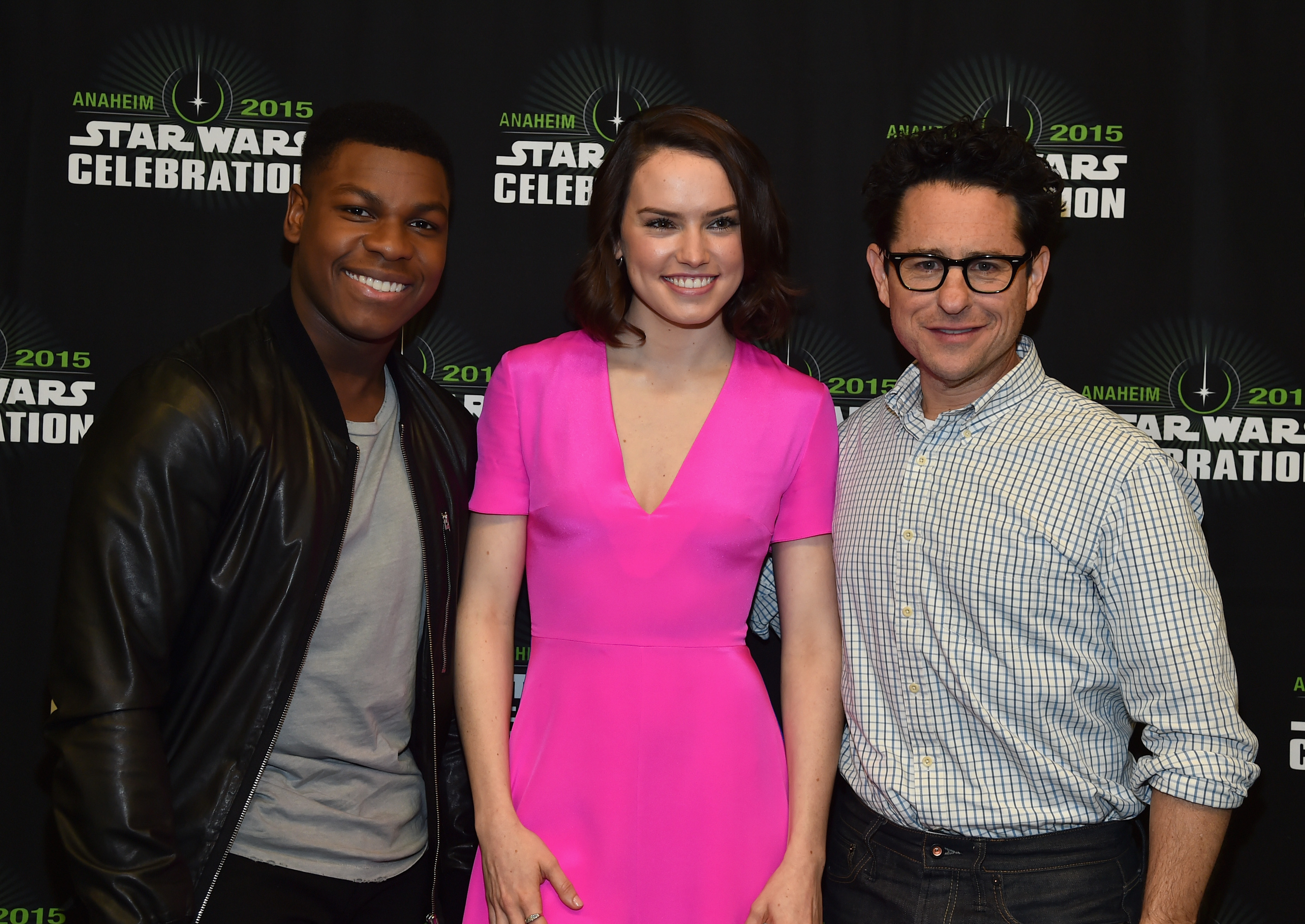 John Boyega Daisy Ridley Celebrate Force Friday Theyre Making The Wet Brush Prints Perfect Star Wars Additions Already Photos