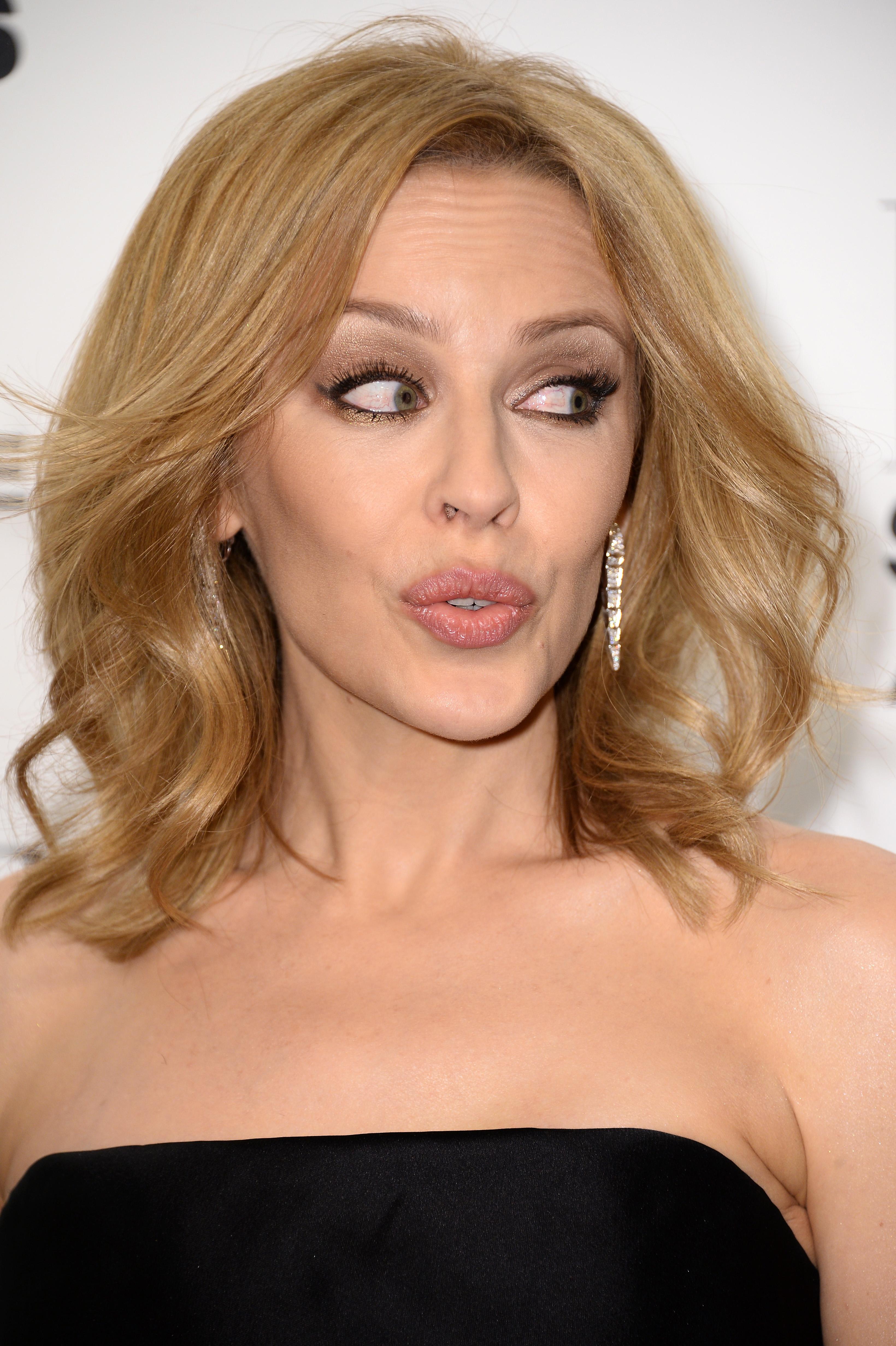 Kylie Minogue's NSFW