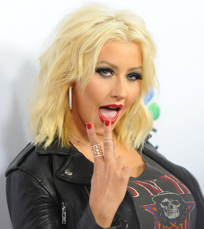 Christina aguilera sex photo