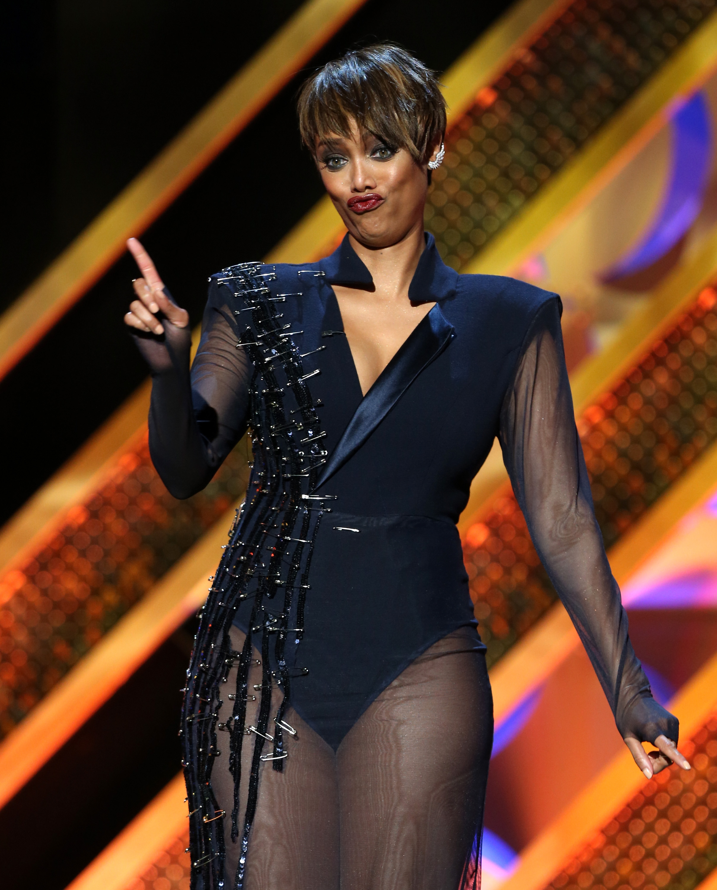"Tyra Banks On The Runway: Tyra Banks Says Models Are Pressured To Be ""Skinnier Than"