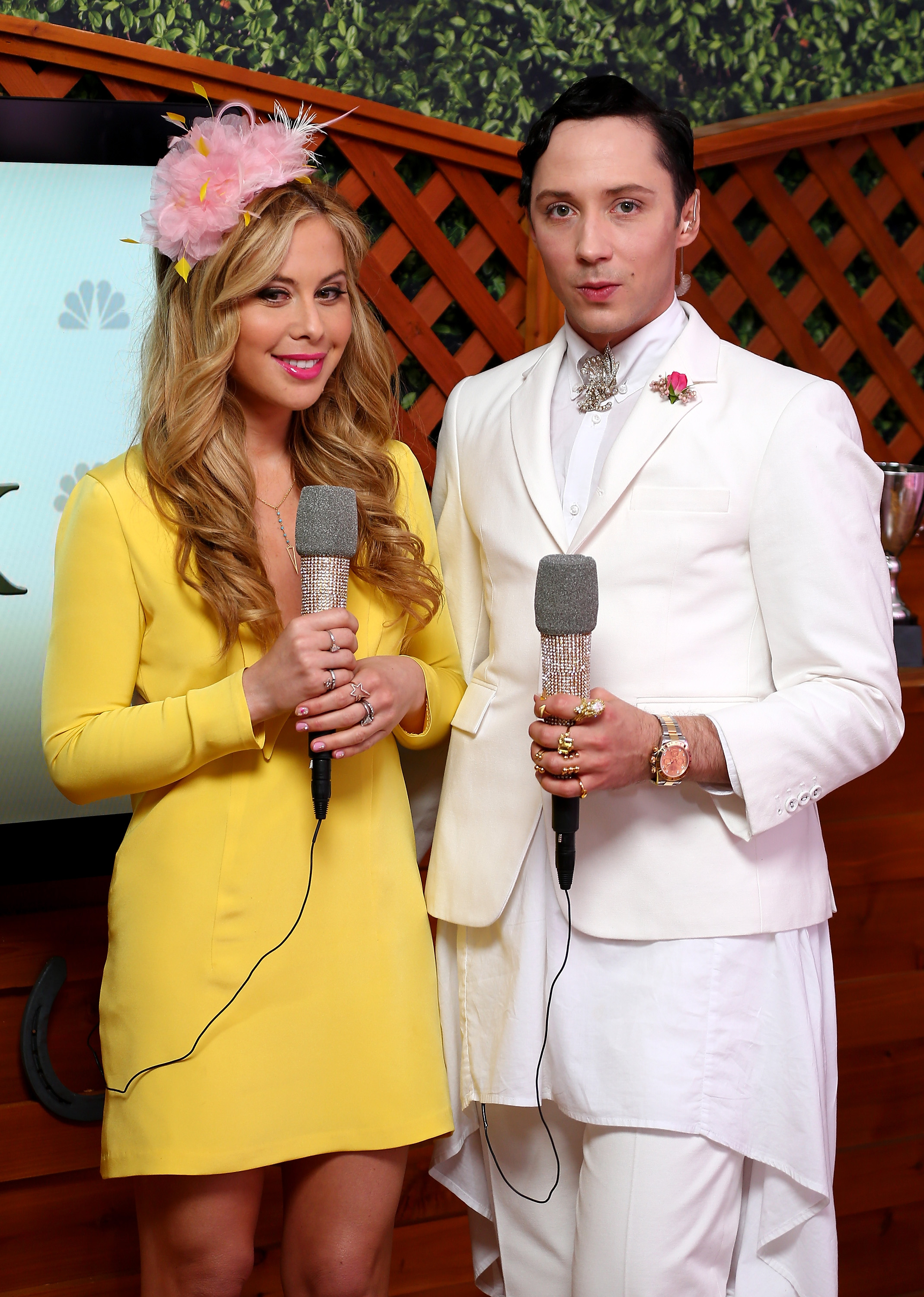 Why Do Tara Lipinski Amp Johnny Weir Host The Kentucky Derby