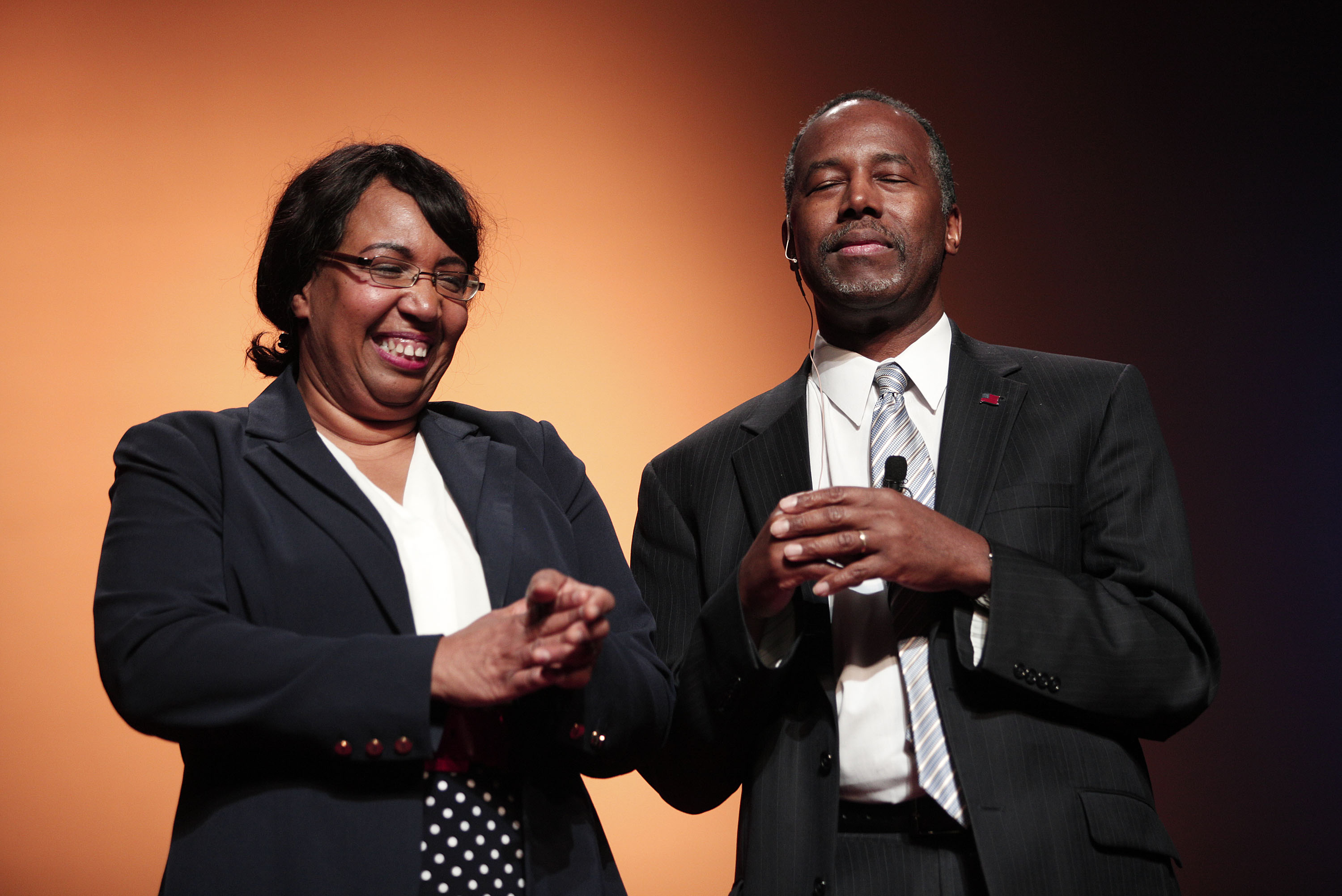 Image result for ben and candy carson photos