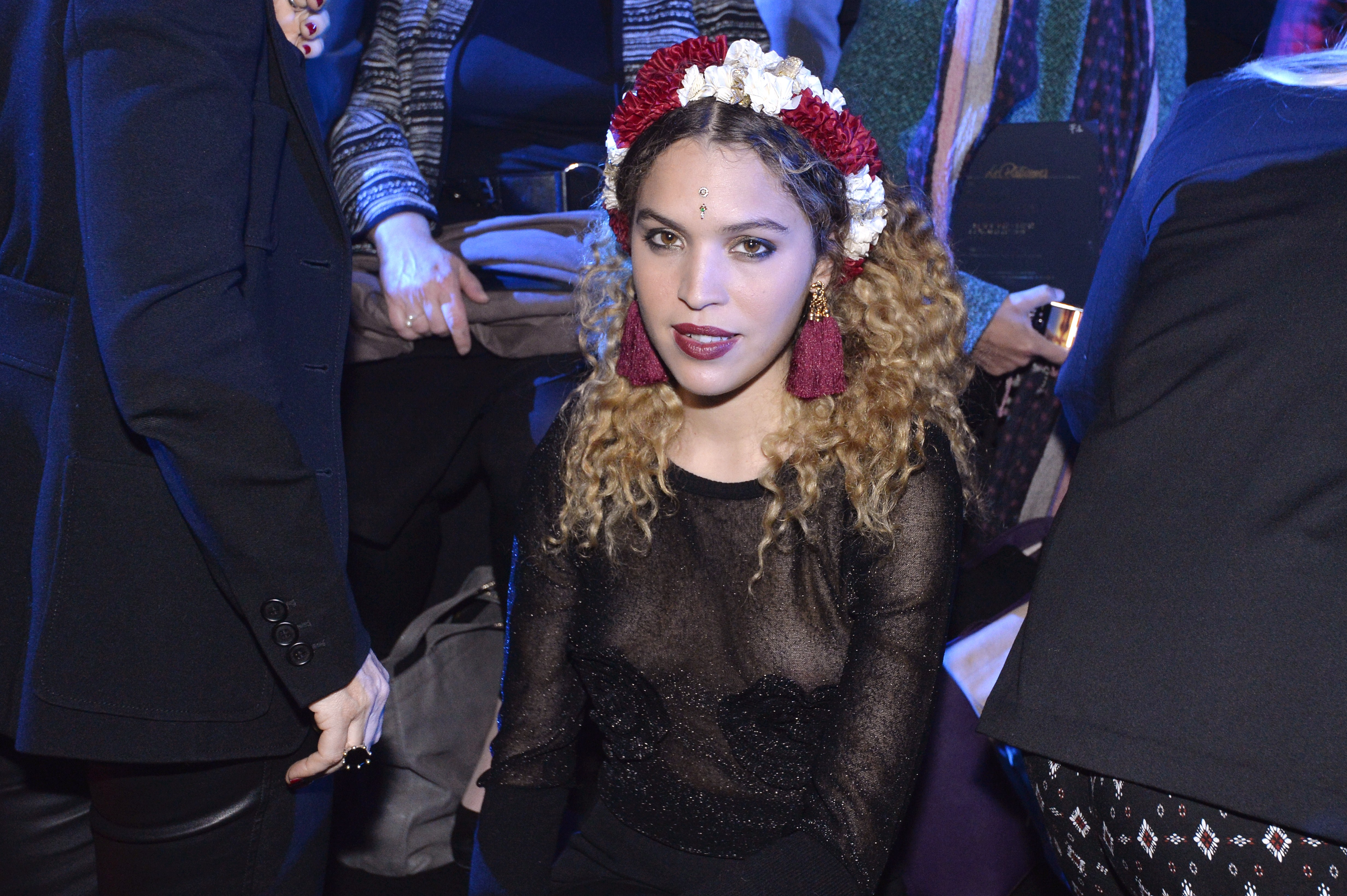 Who is cleo wade cory booker has been linked to this instagram poet miguel medinaafpgetty images voltagebd Images