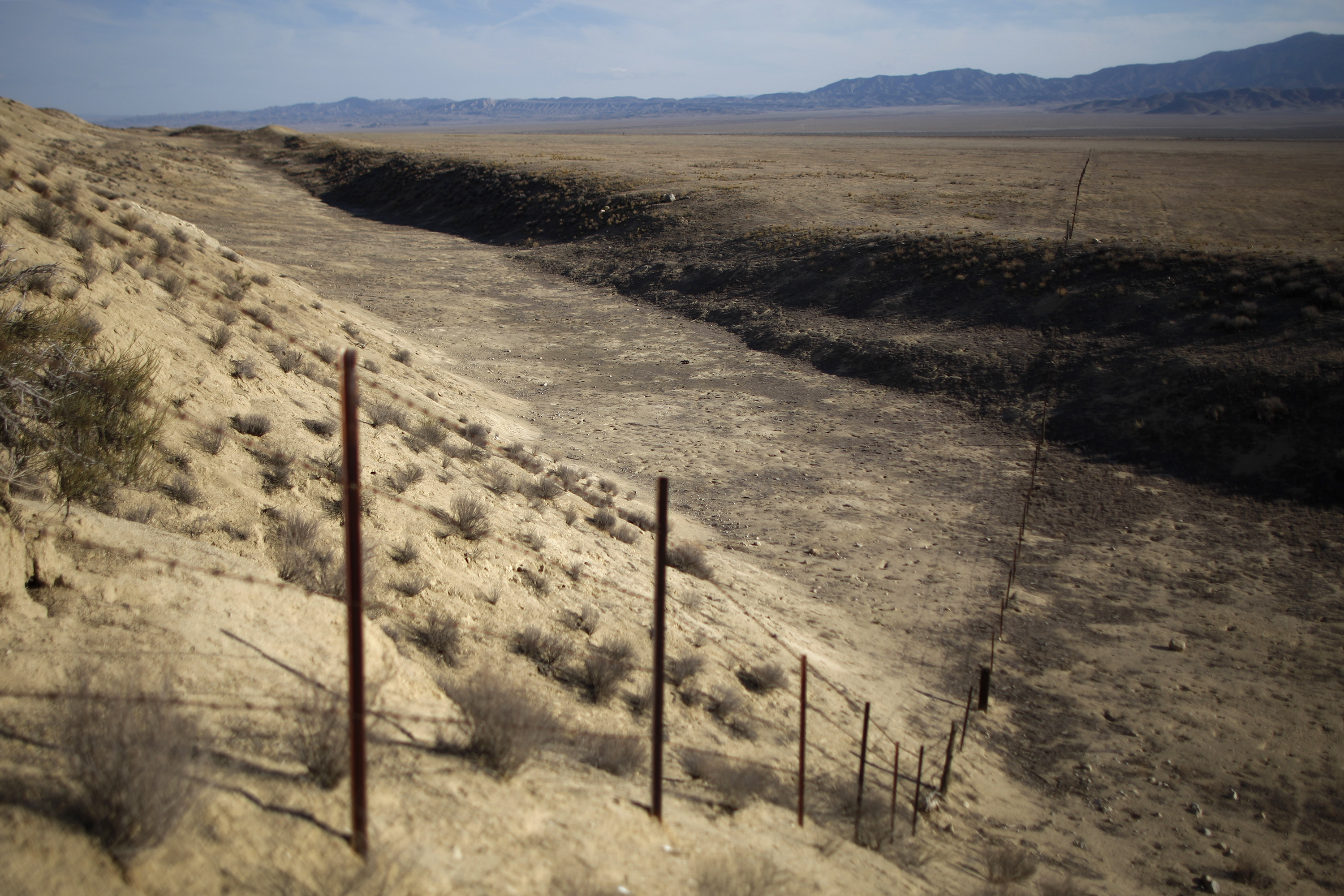 Photos Of The San Andreas Fault Show What The Geological ...