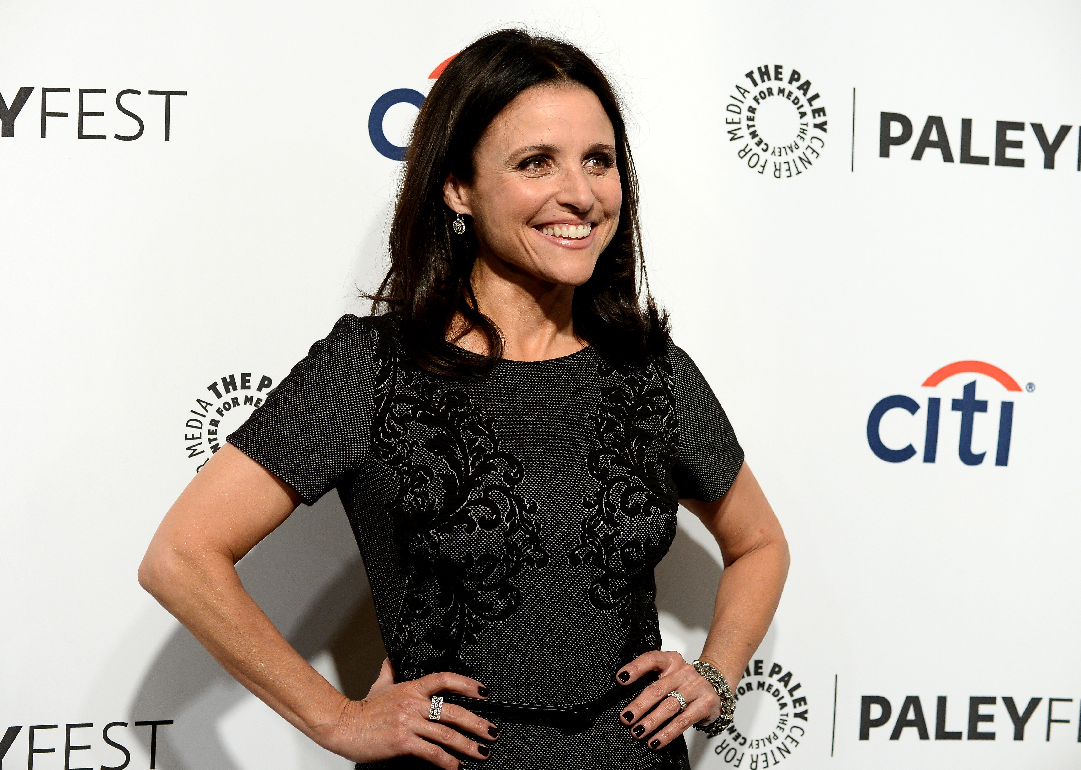 Julia Louis-Dreyfus naked on the cover of Rolling Stone