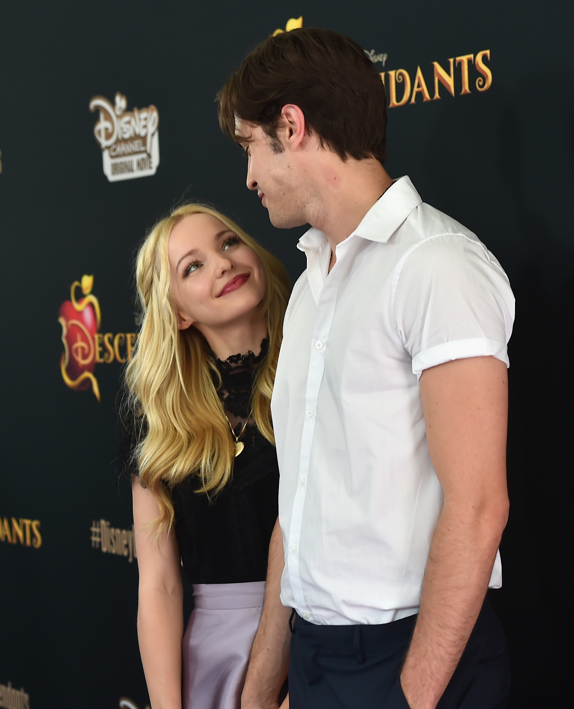 disney channel stars and who they are dating Dove cameron discusses the twist ending to disney channel's 'descendants,' which premiered friday descendants stars on twist ending.