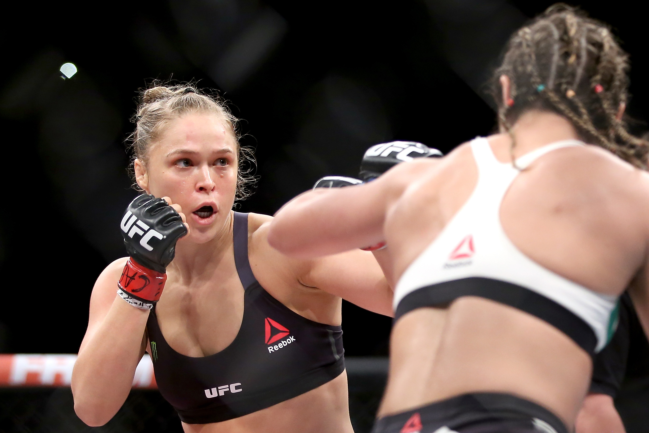 Peter ronda rousey porn beautiful