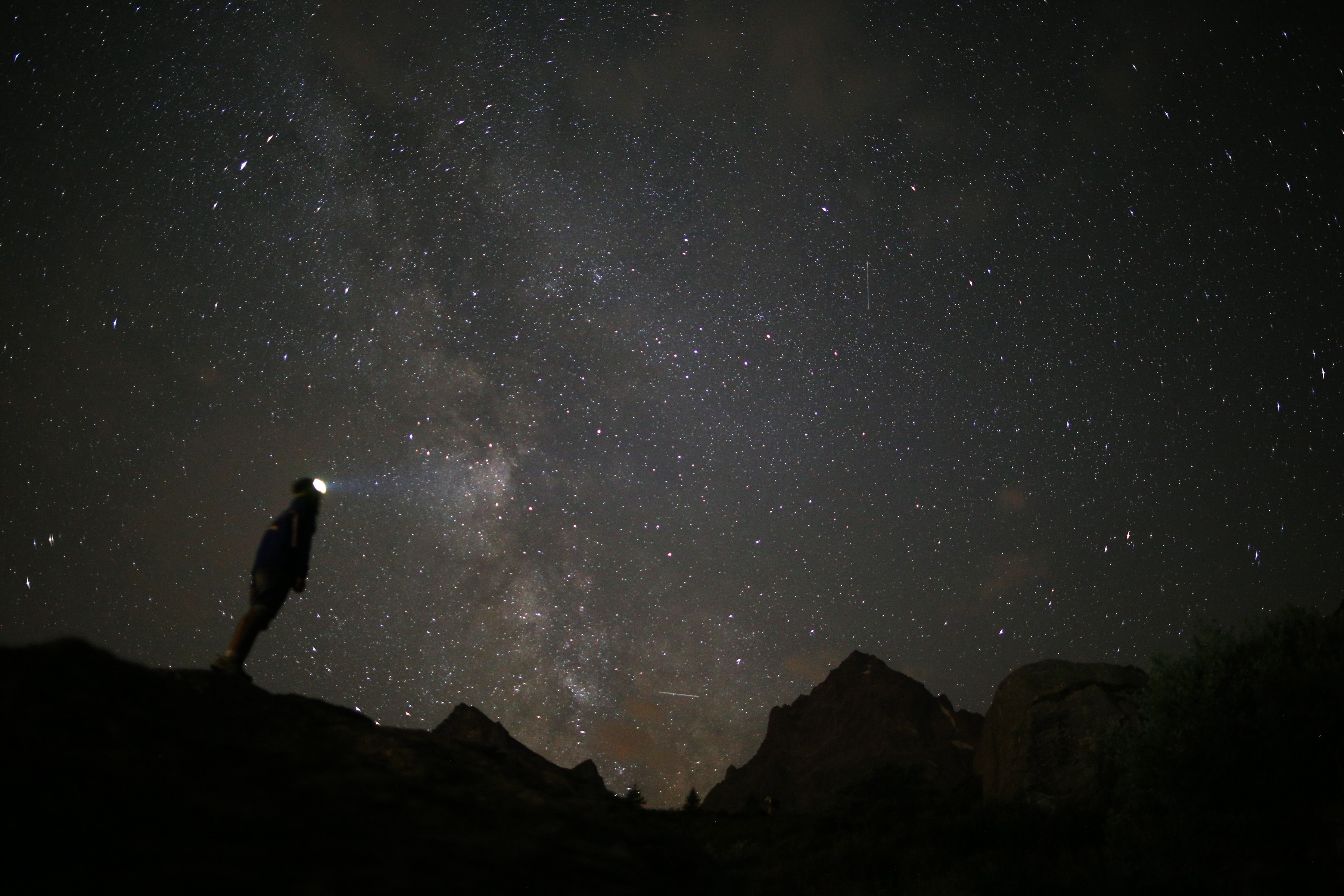 What is a meteor shower that only comes around about every 100 years?