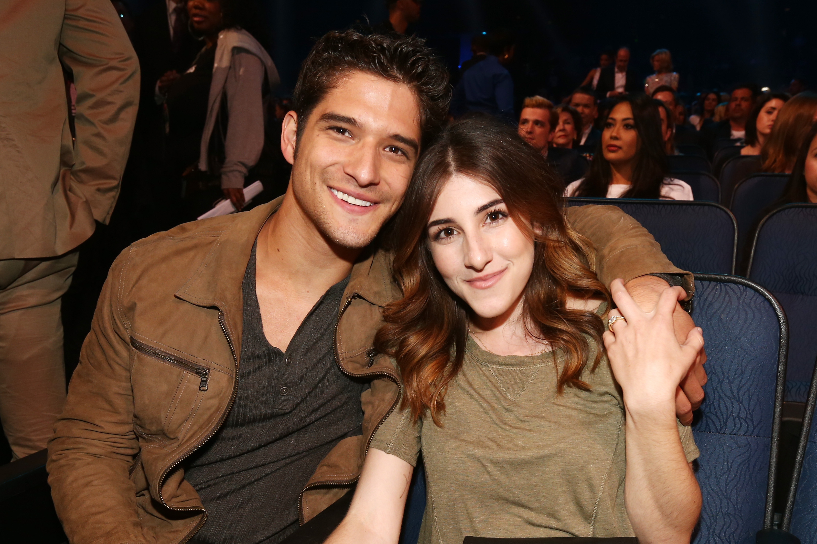 How long have seana gorlick and tyler posey been dating for two