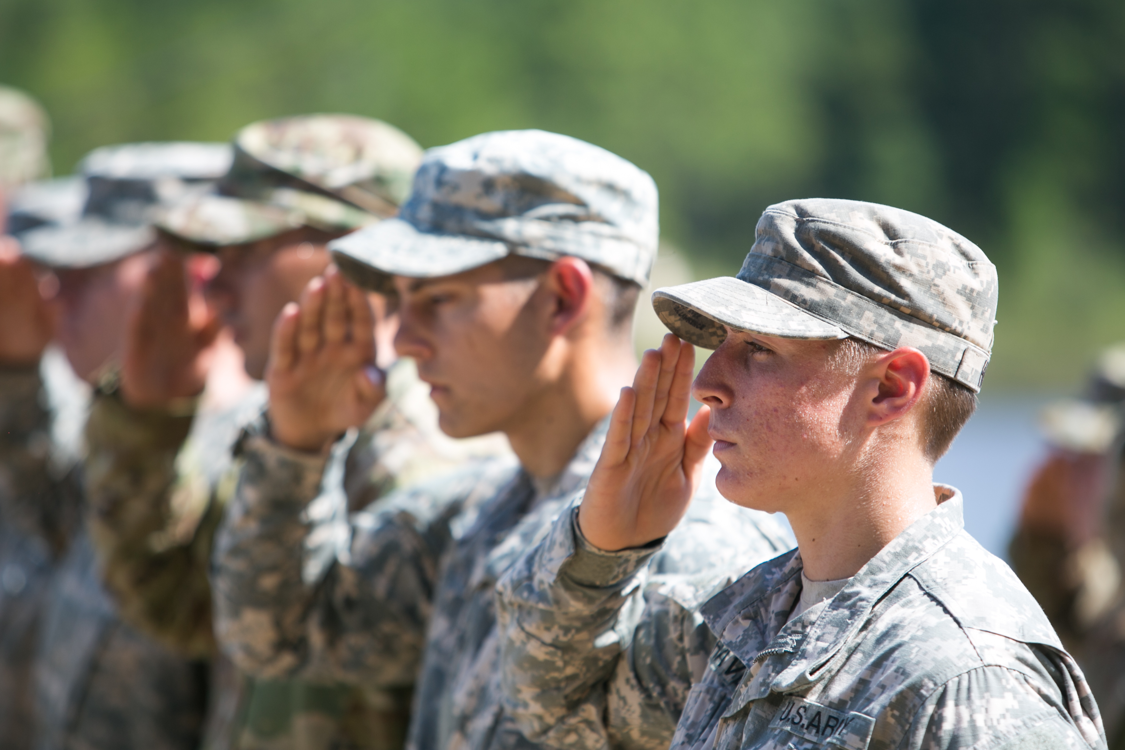 military positions for women