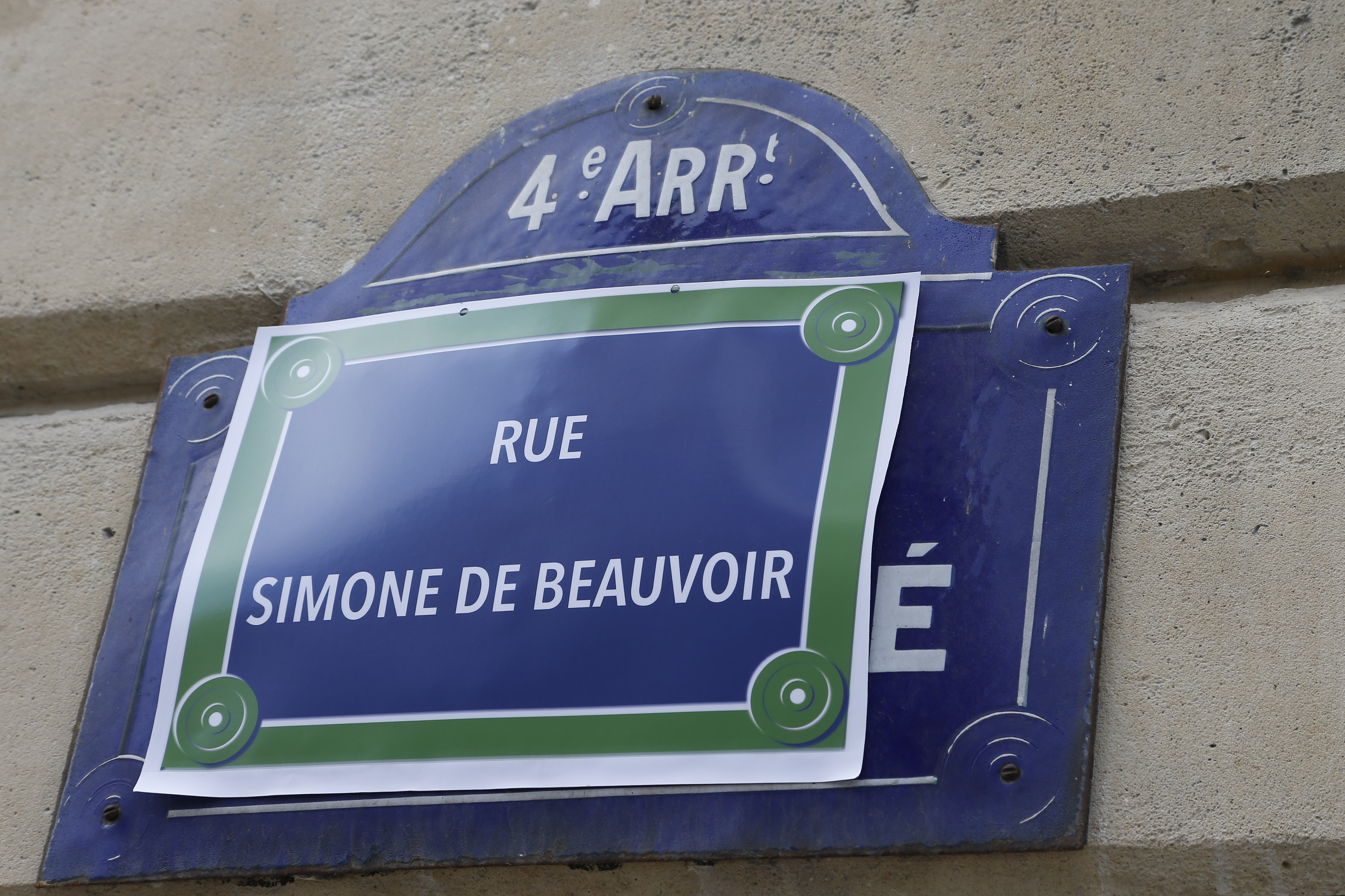 French Feminists Are Renaming The Streets Of Paris