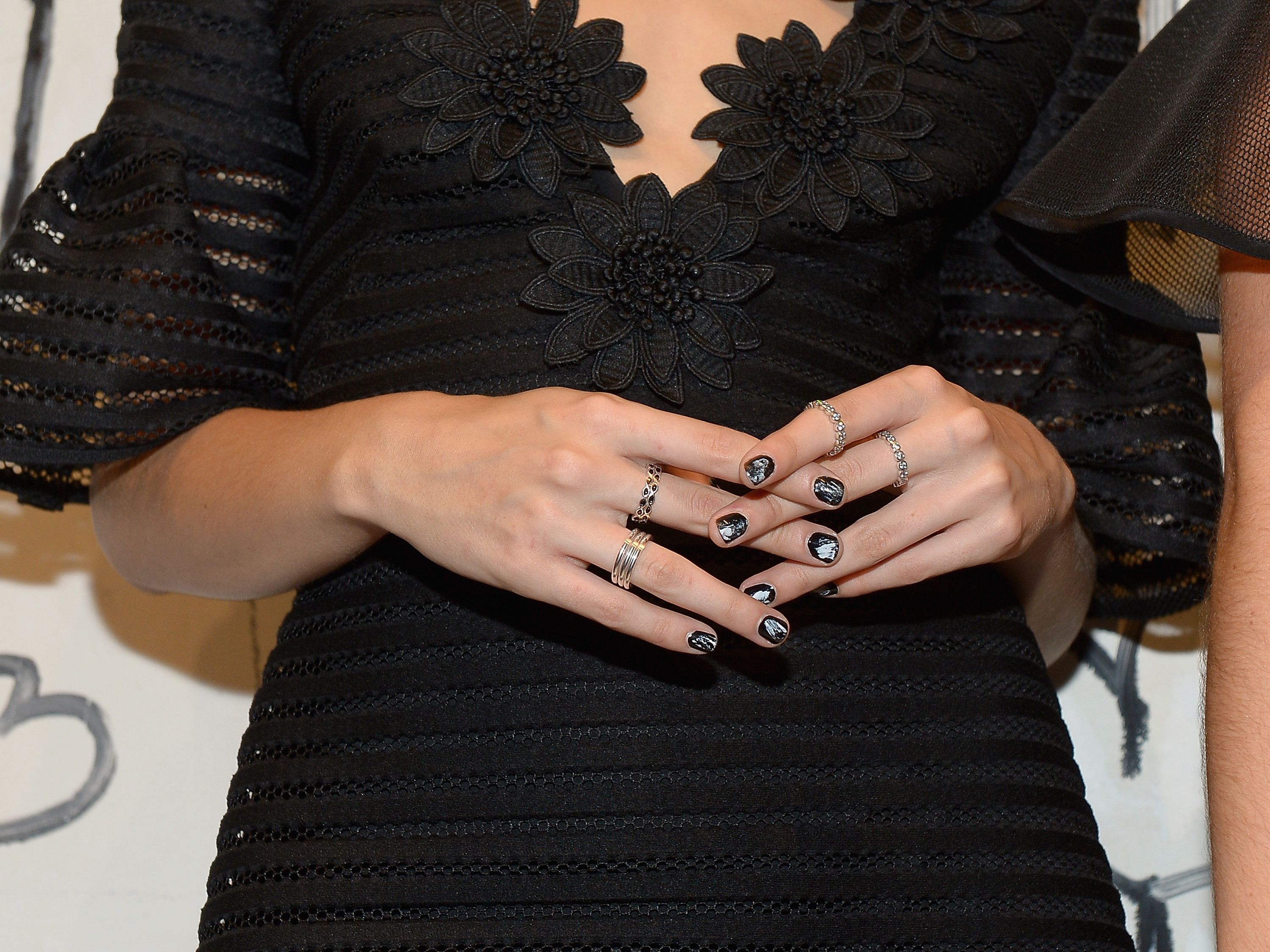 11 Creative Ways To Wear Black Nail Polish