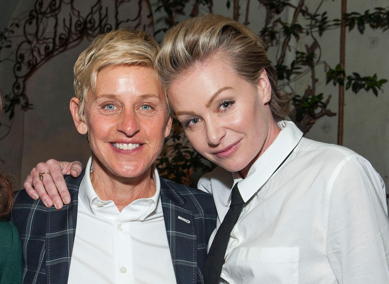 Ellen degeneres and portia de rossi pictures