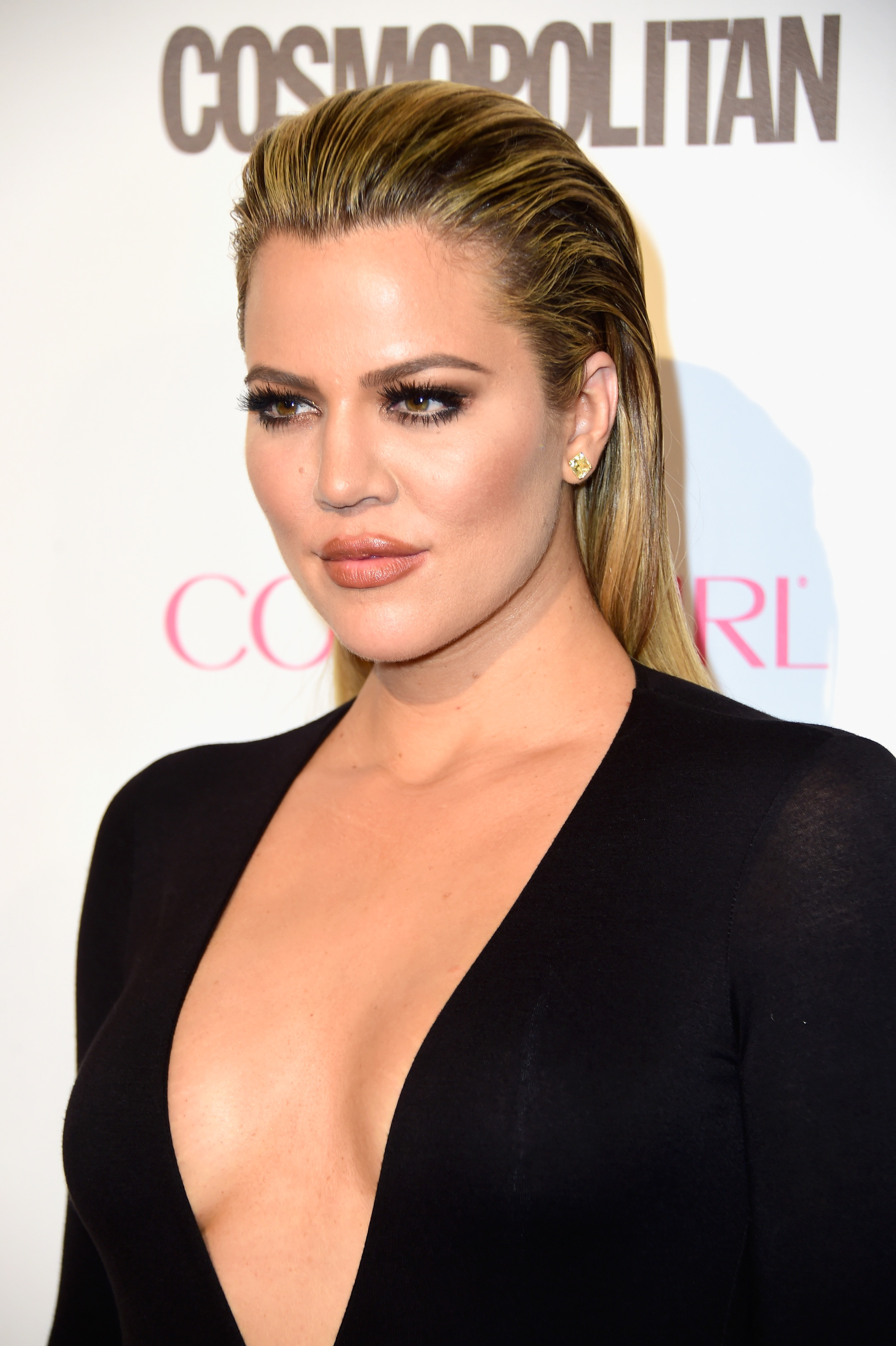 Khloe Kardashian Cuts Her Hair Debuts Blonde Lob Photos