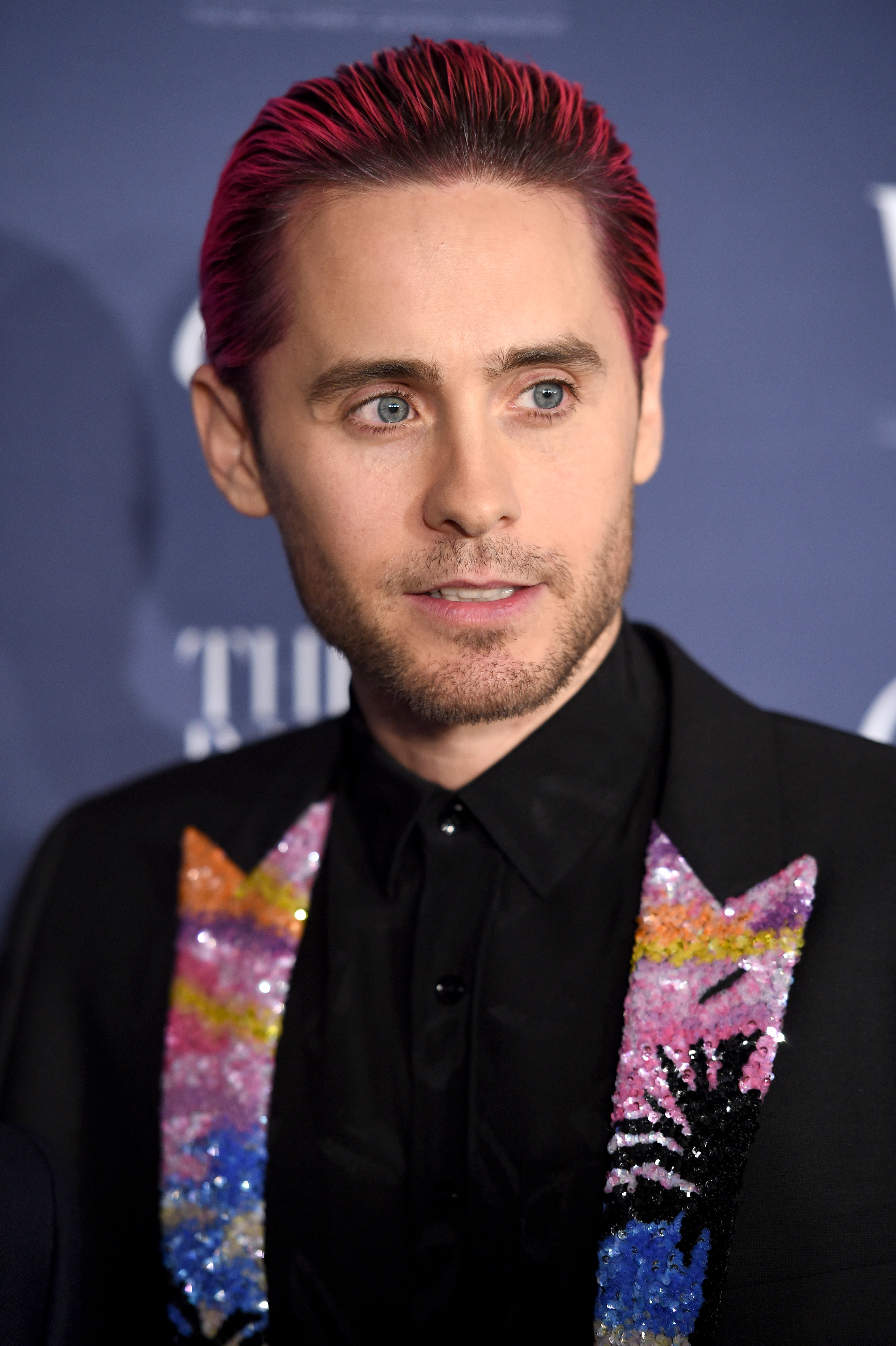 Jared Leto Wears Palm Tree Lapels Has Fun With Fashion On The Red