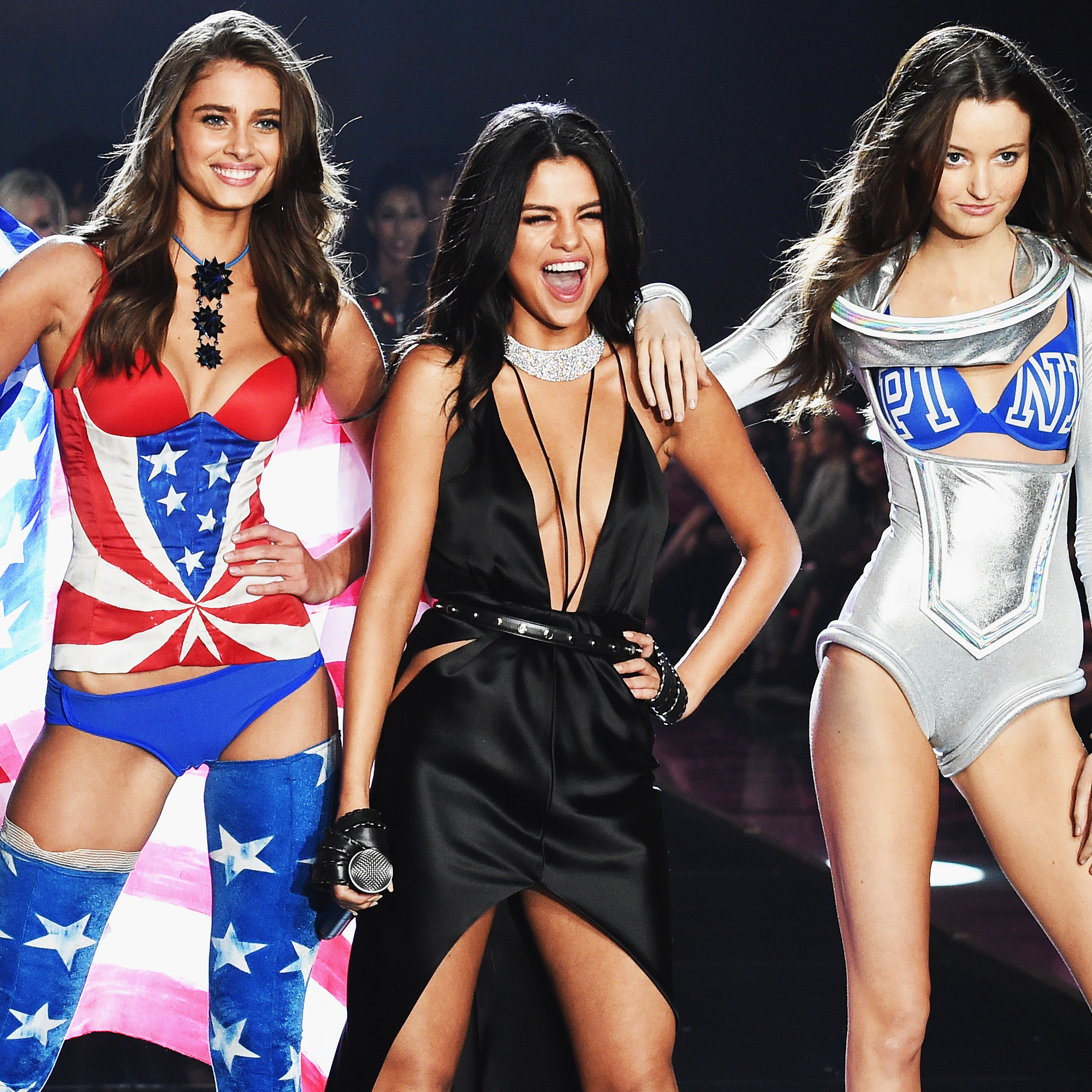 5e6603417ba Selena Gomez s Victoria s Secret Fashion Show Performance Was Full Of Girl  Power