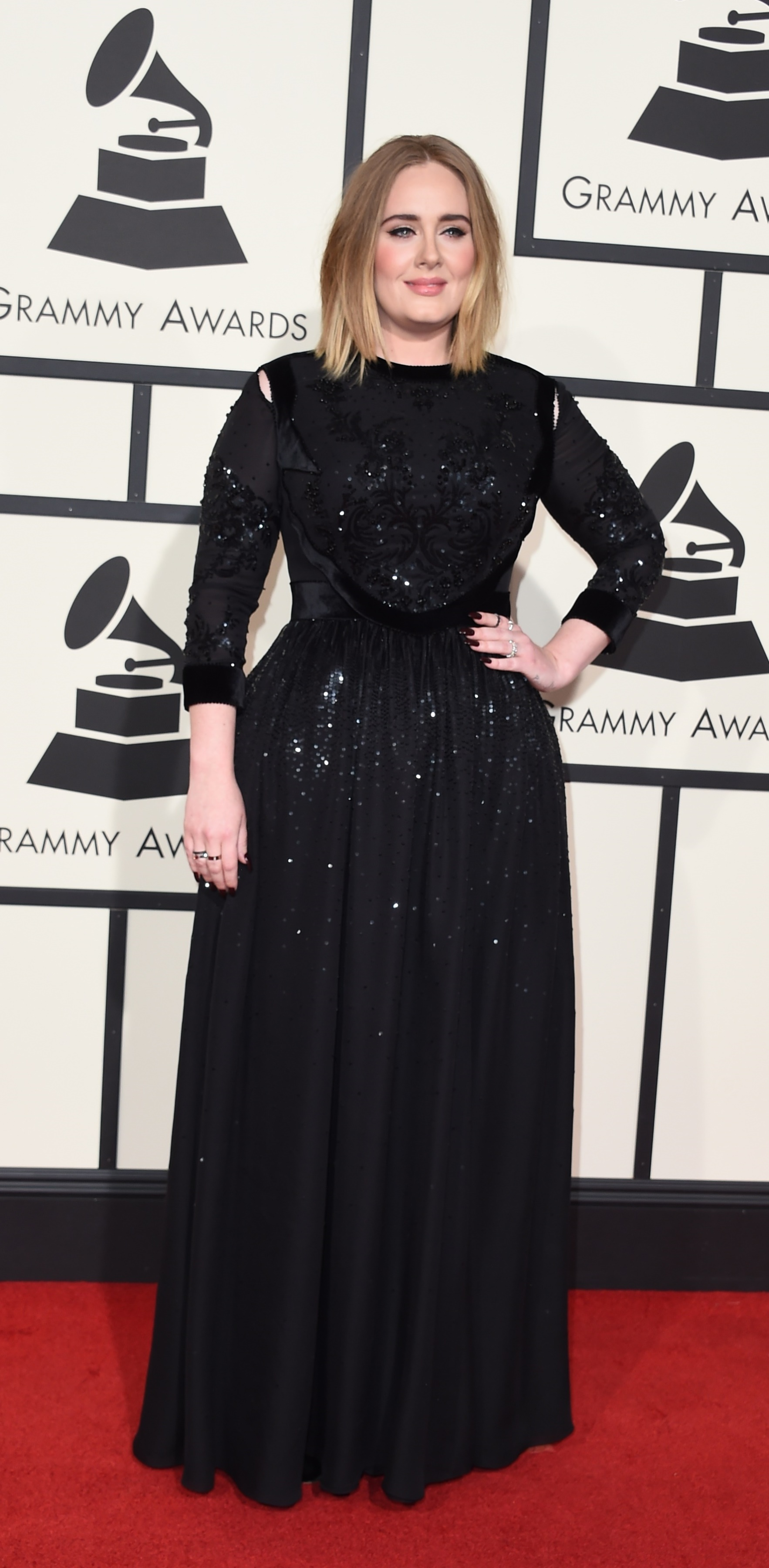 Adele S Rings At The Grammys