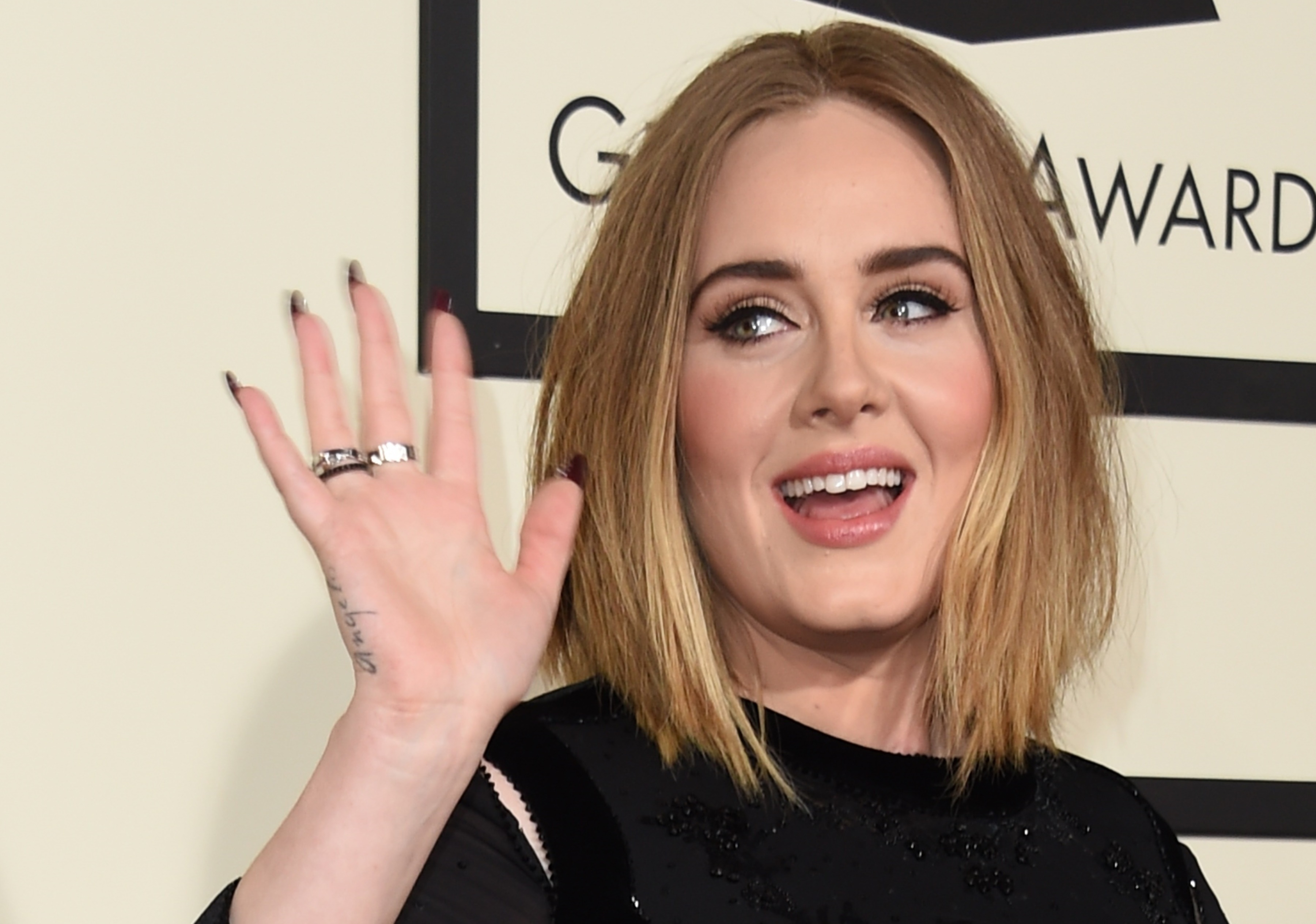 adele jokes about pregnancy beard but her message is one of self love. Black Bedroom Furniture Sets. Home Design Ideas