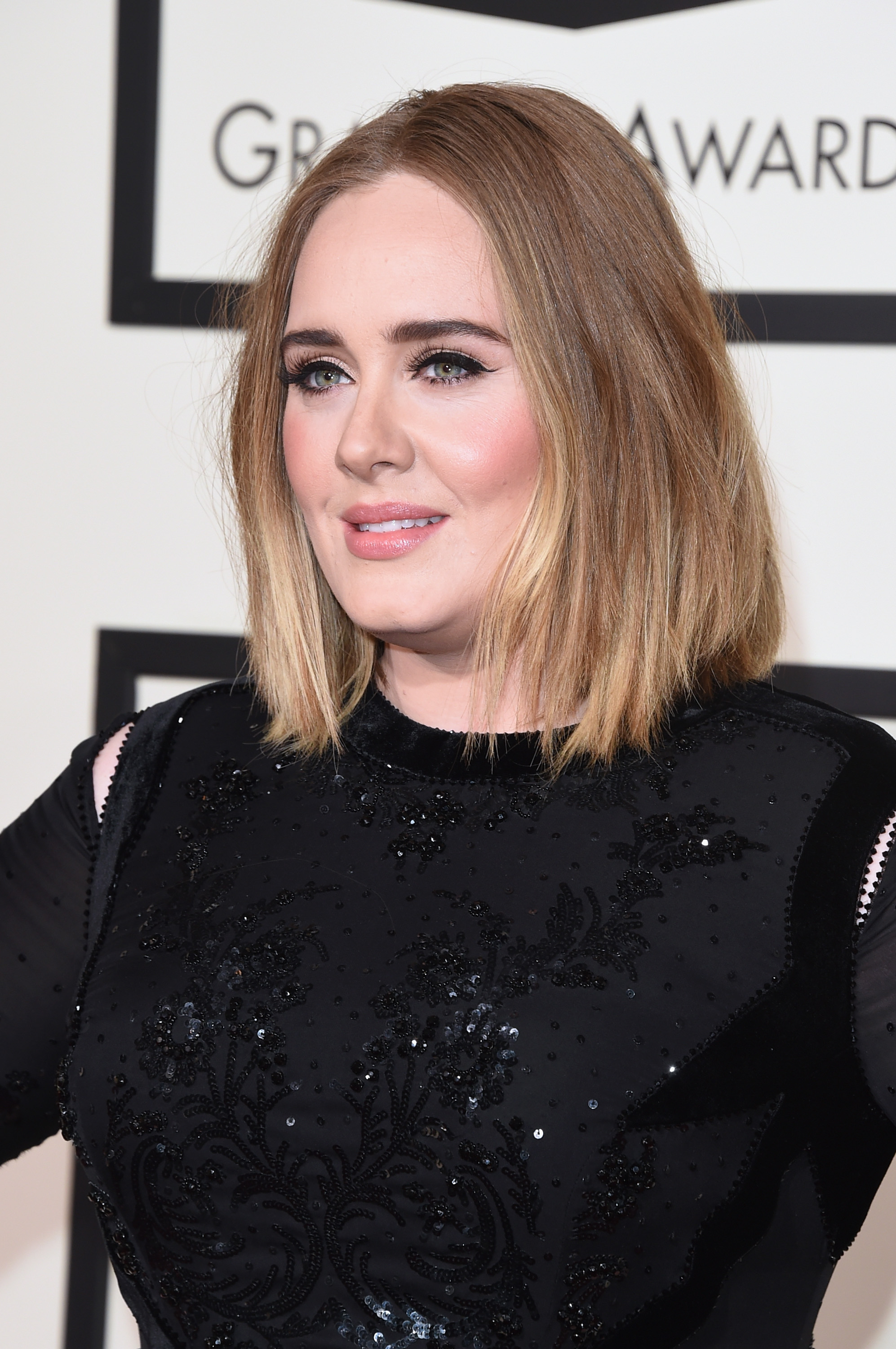 Adele Has New Ombre Hair At 2016 Grammys Remains Flawless