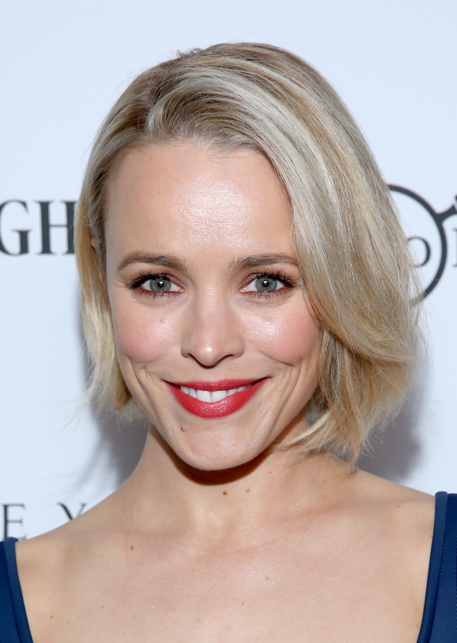 Rachel Mcadams Dyes Hair Platinum Blonde Because The Hair Trend Isn