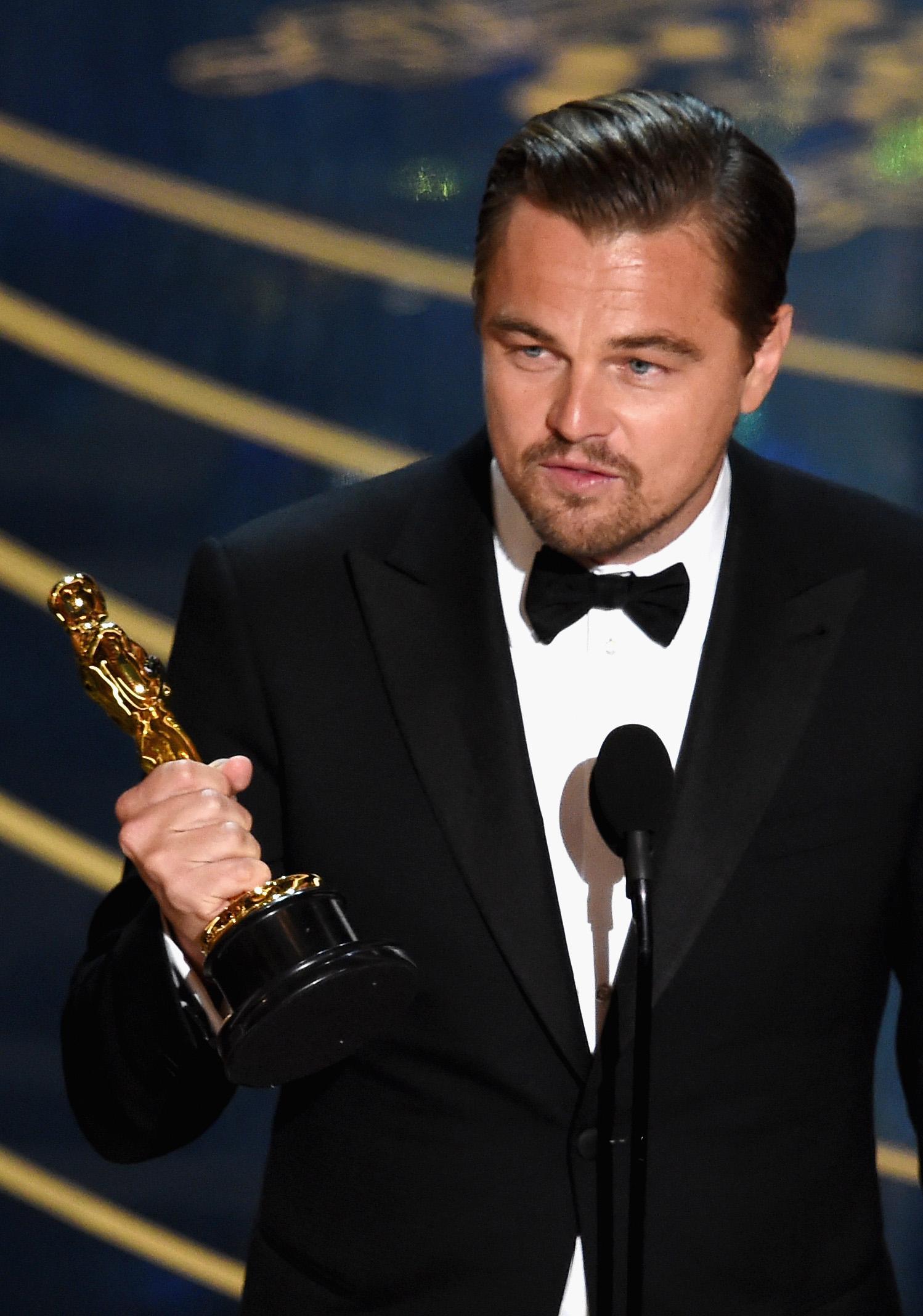 He finally waited: Leonardo DiCaprio was awarded the Oscar for best actor 29.02.2016 55