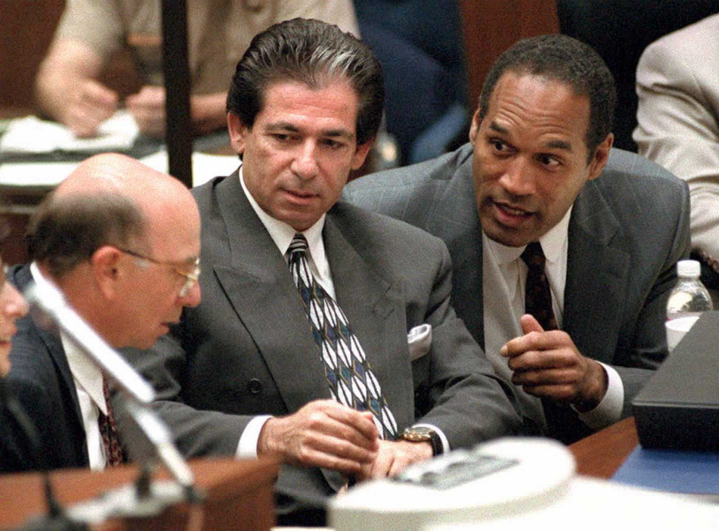 Watch Oj simpsons jury as white as white can be video