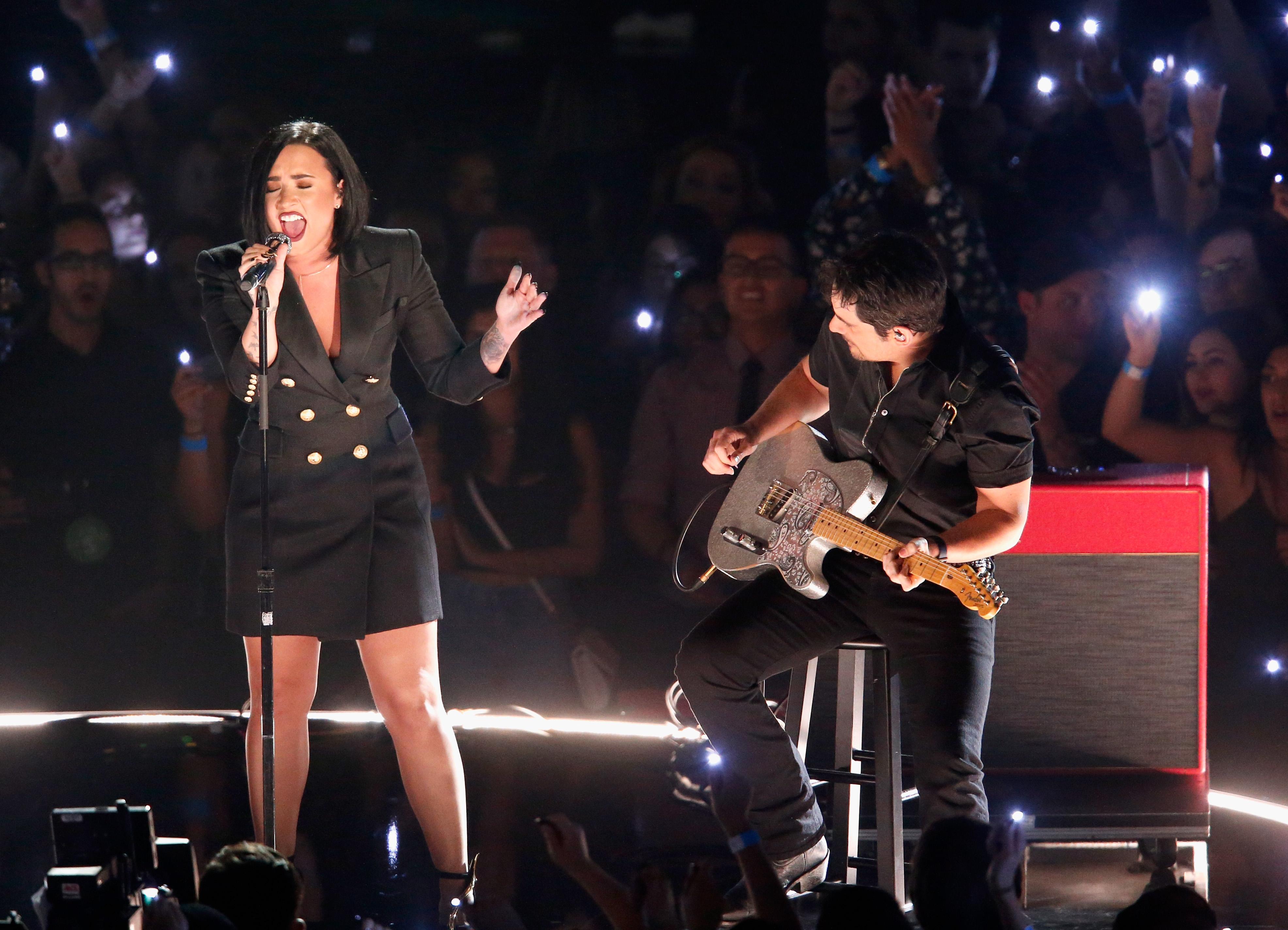 Demi Lovato's Performance Of