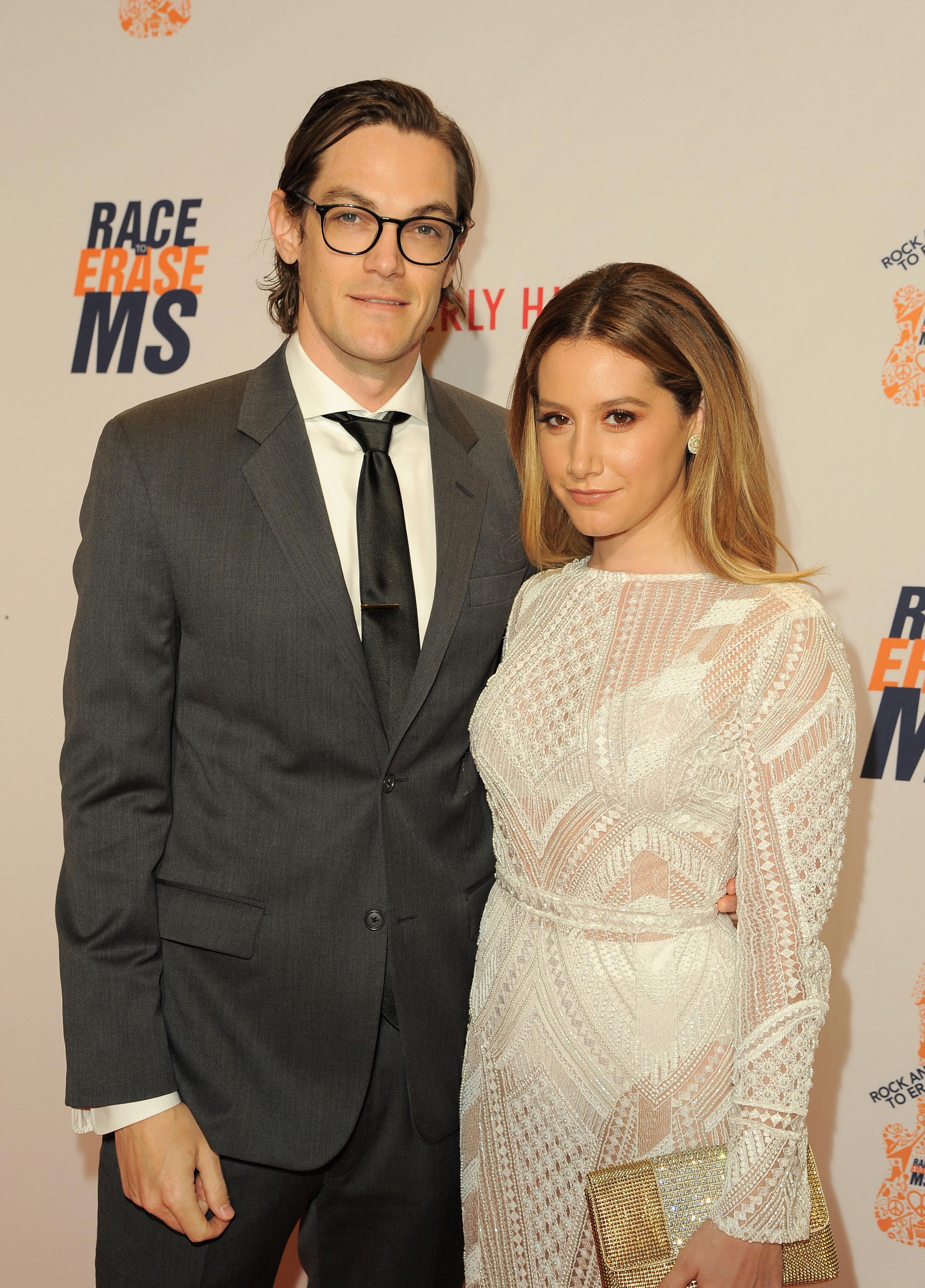 ashley tisdale and husband