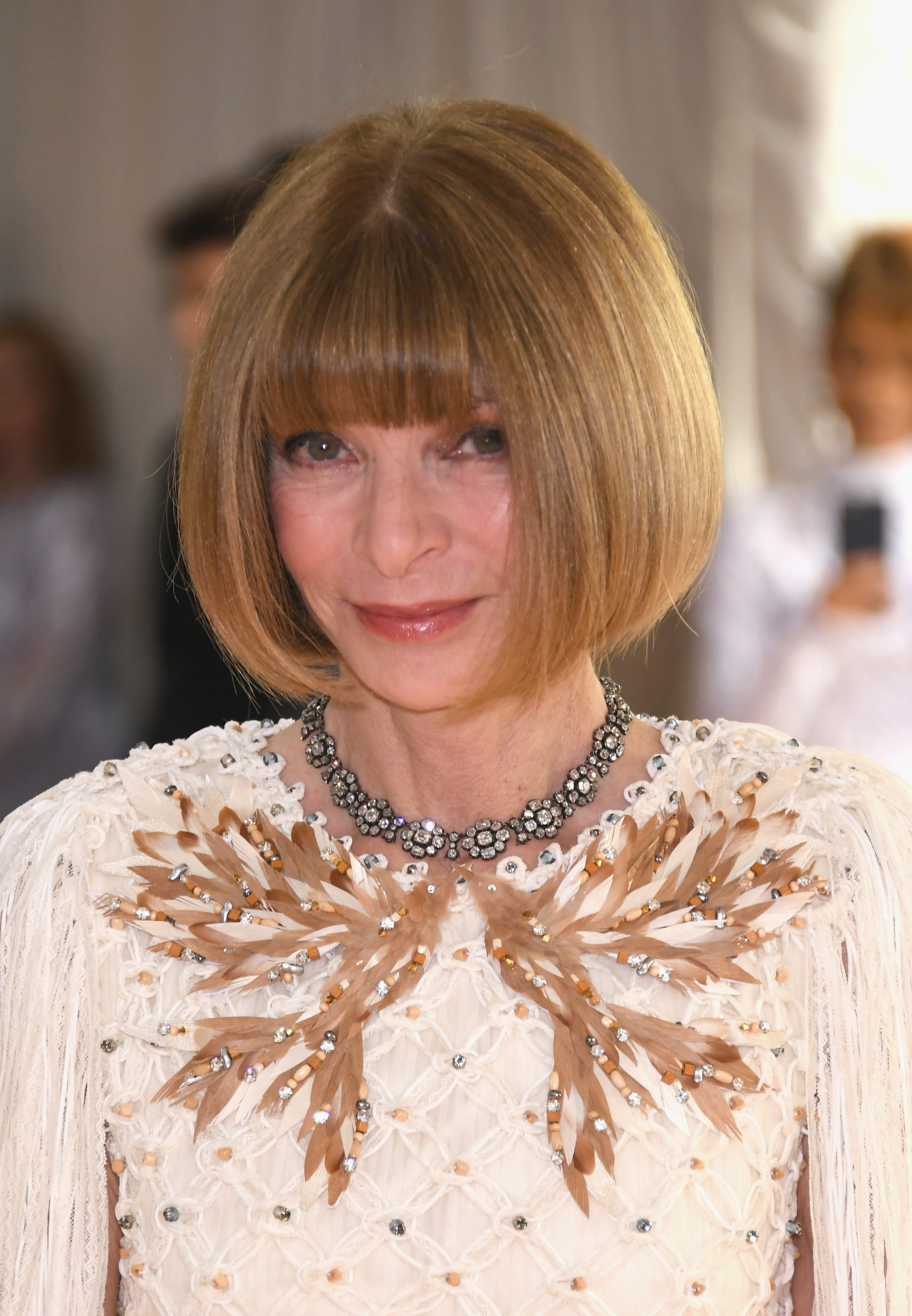 Anna Wintour At The 2016 Met Gala Is Totally Amp Completely