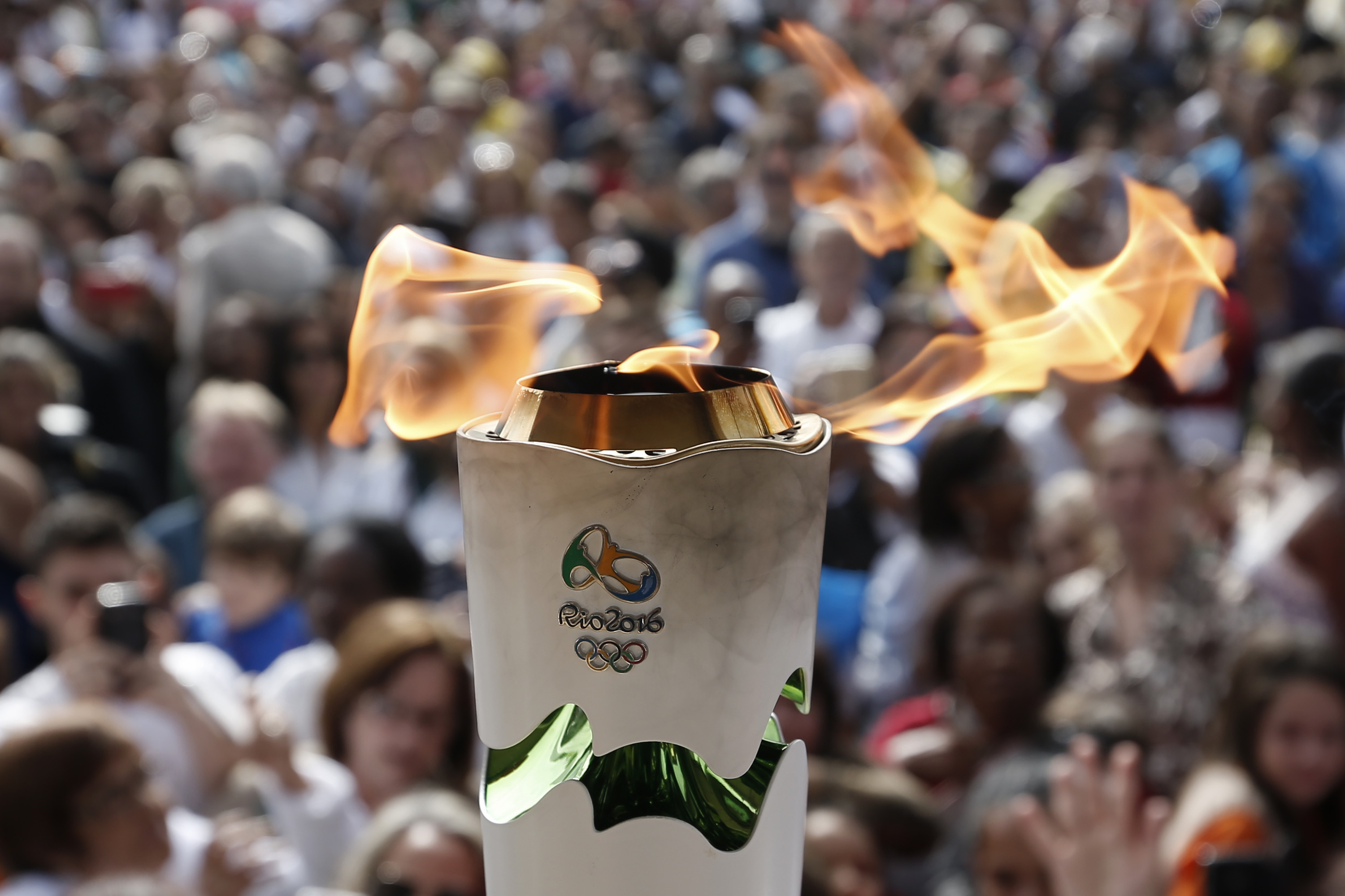 Is The Olympic Flame Always Burning? Rio Has Gone To Great Lengths ... for Olympic Torch Fire  103wja