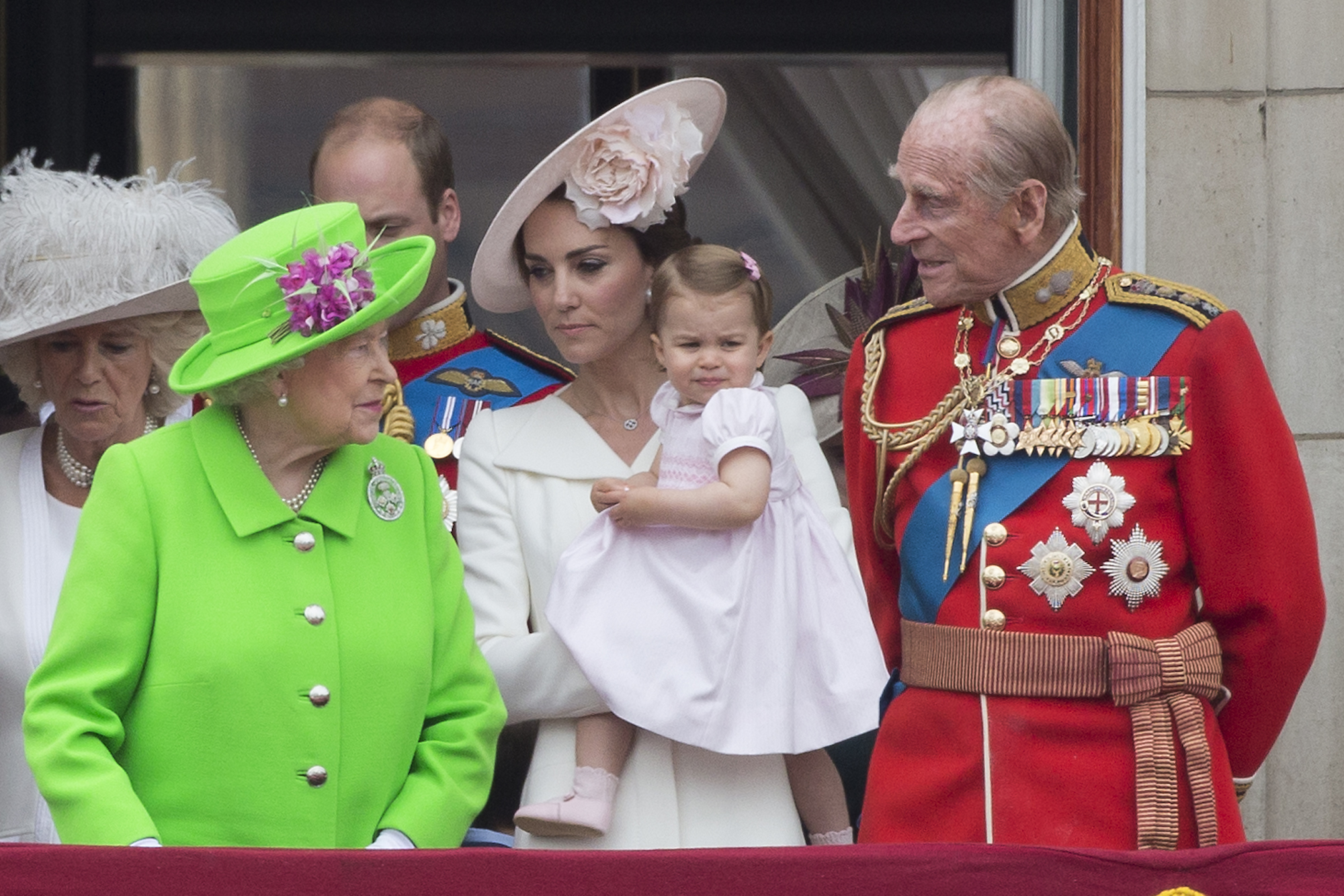 Princess Charlotte Looks Just Like The Queen These