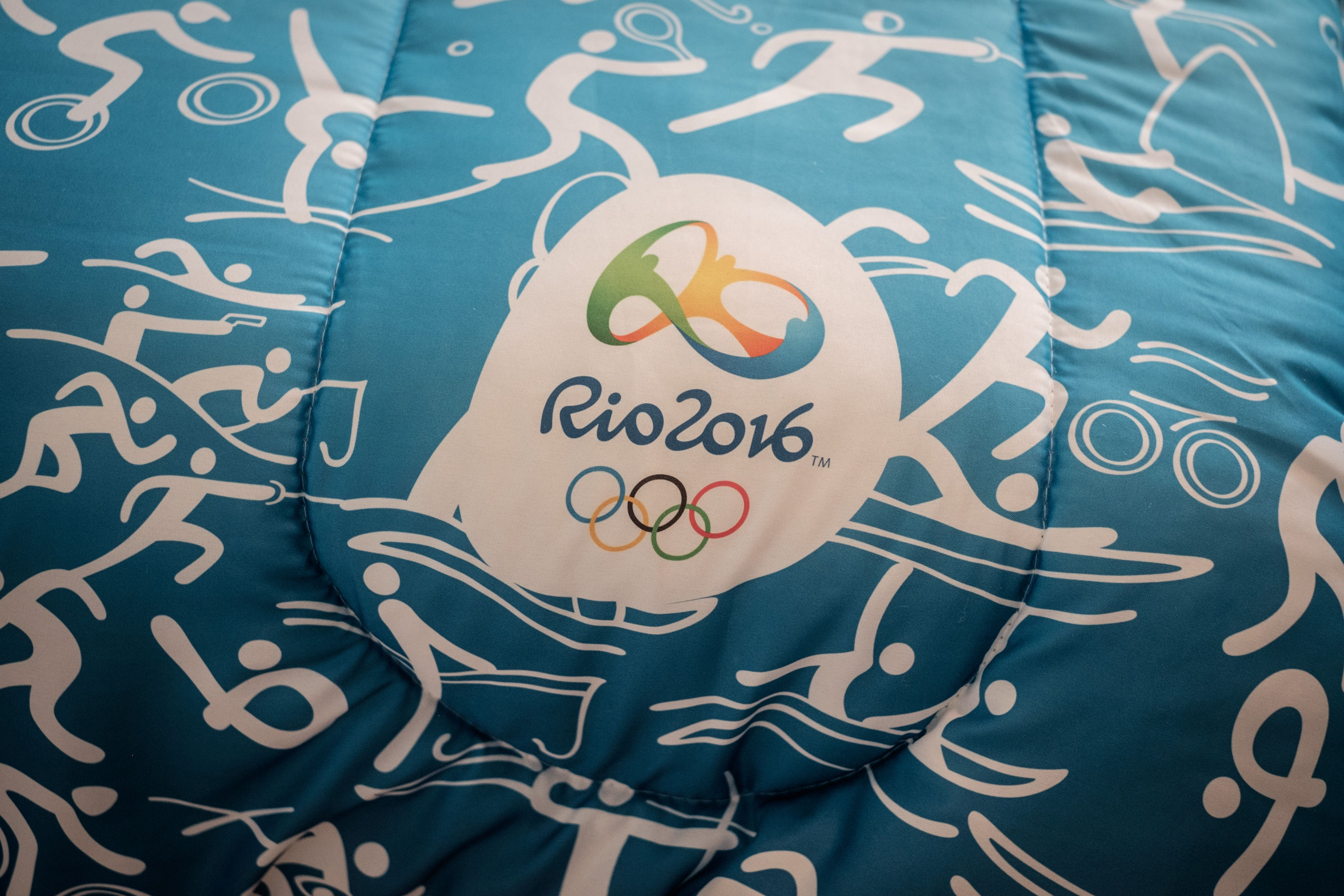 What does the rio olympic logo mean the 2016 design represents yasuyoshi chibaafpgetty images buycottarizona