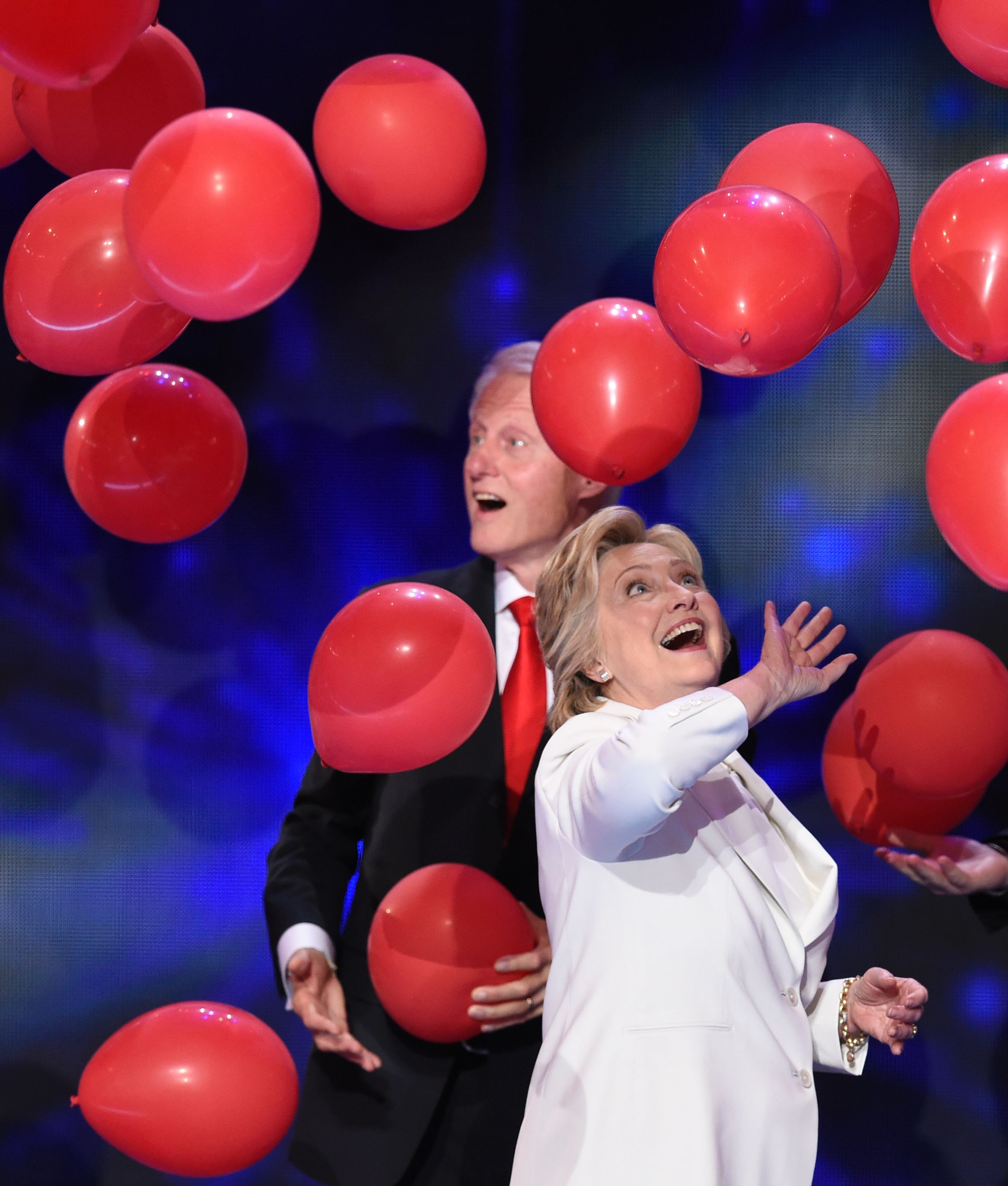 These Bill Hillary Clinton Balloon Drop Memes Gifs Will Make You