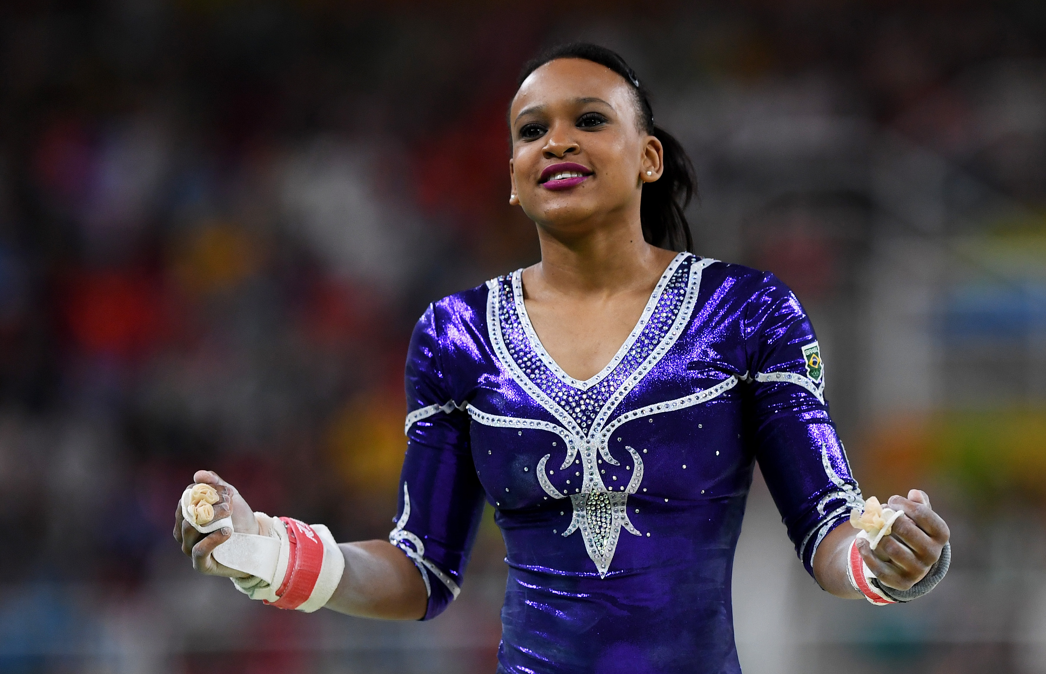 The Gymnast Who Used Beyonce As Her Floor Music Is