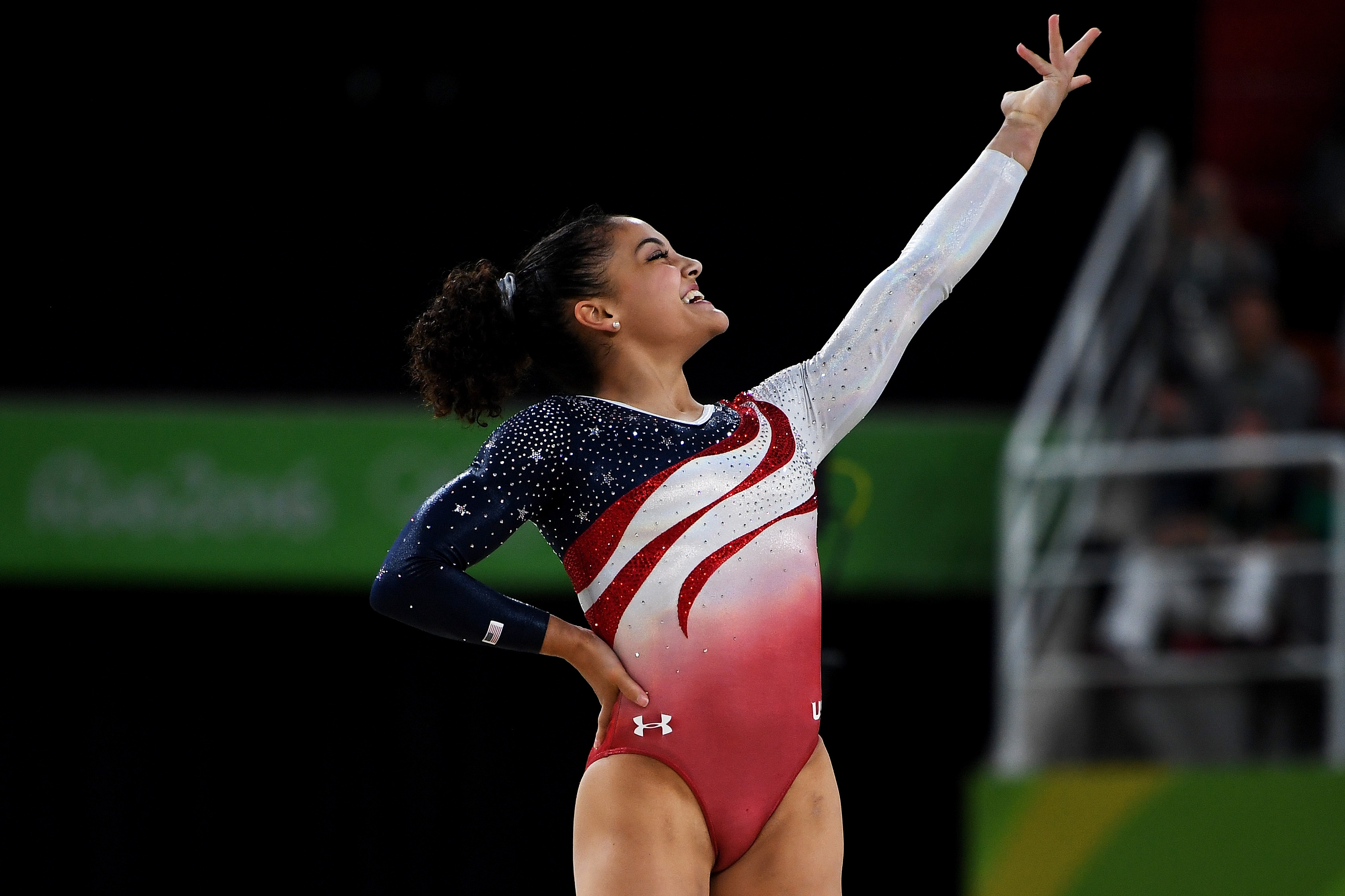 why don't the men have music on floor? rio olympic gymnasts perform