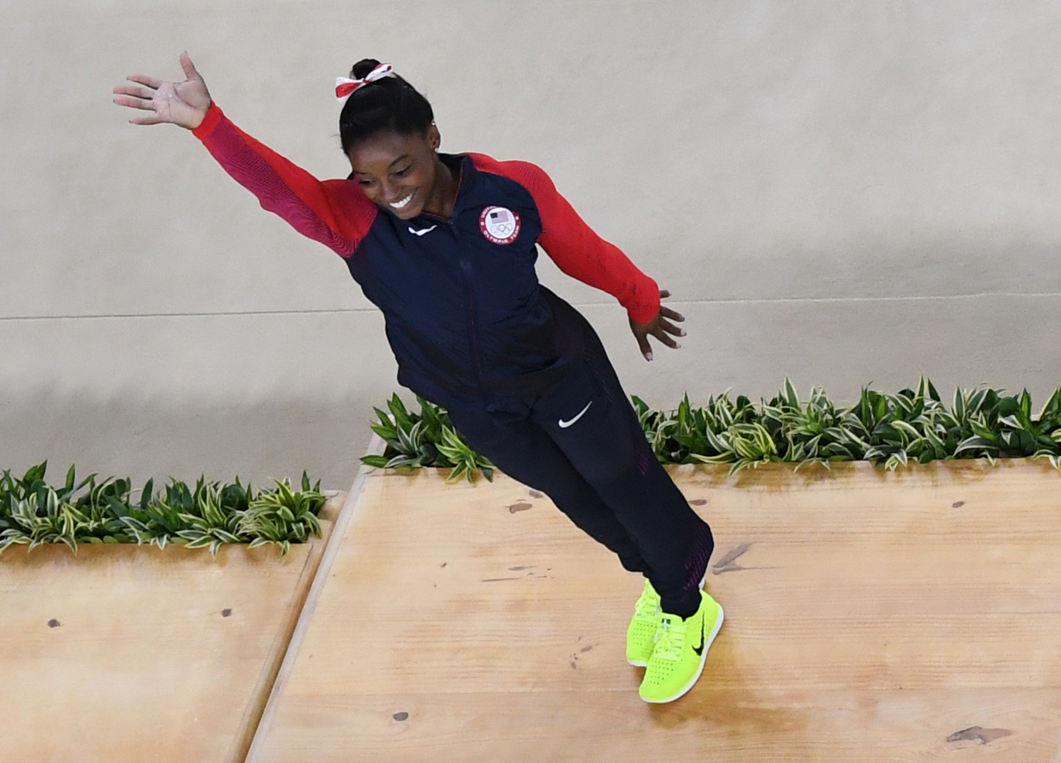 Are The Yellow Sneakers Team USA Wears Limited Edition  Looks Like The Neon  Kicks Won t Last 25407381c