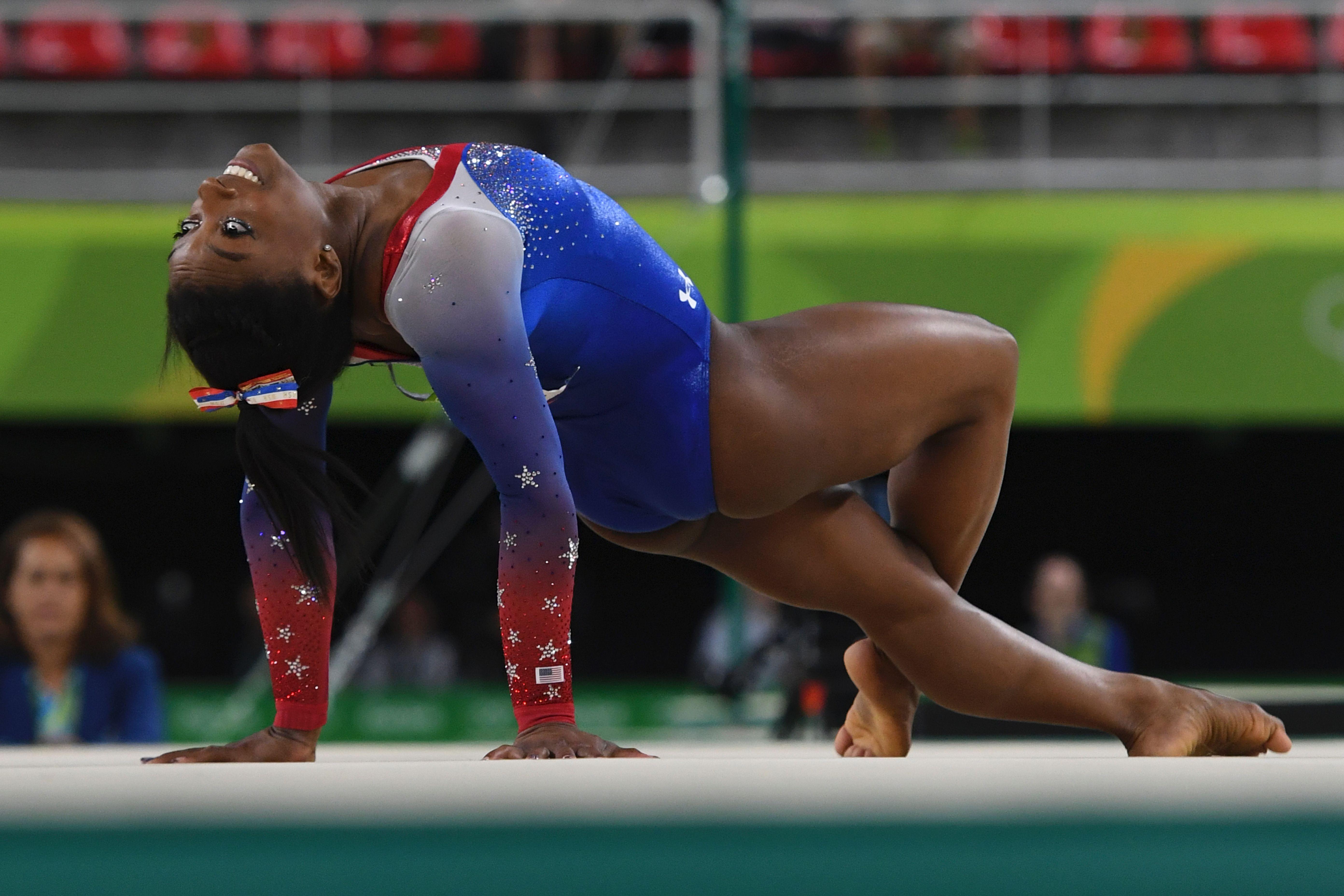 How To Watch Simone Biles Winning Floor Routine Keep The