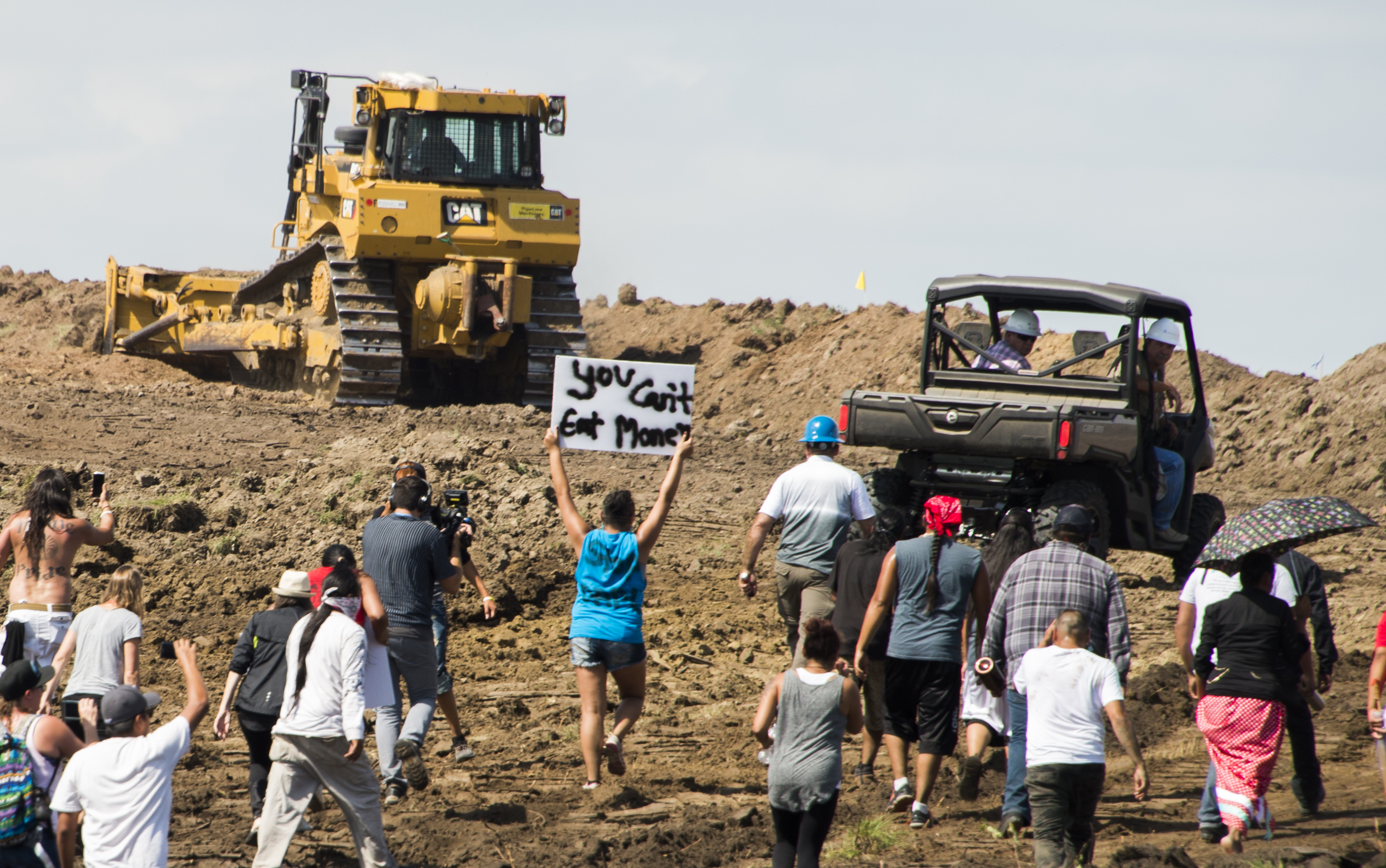 300 attend Thanksgiving Day pipeline protest