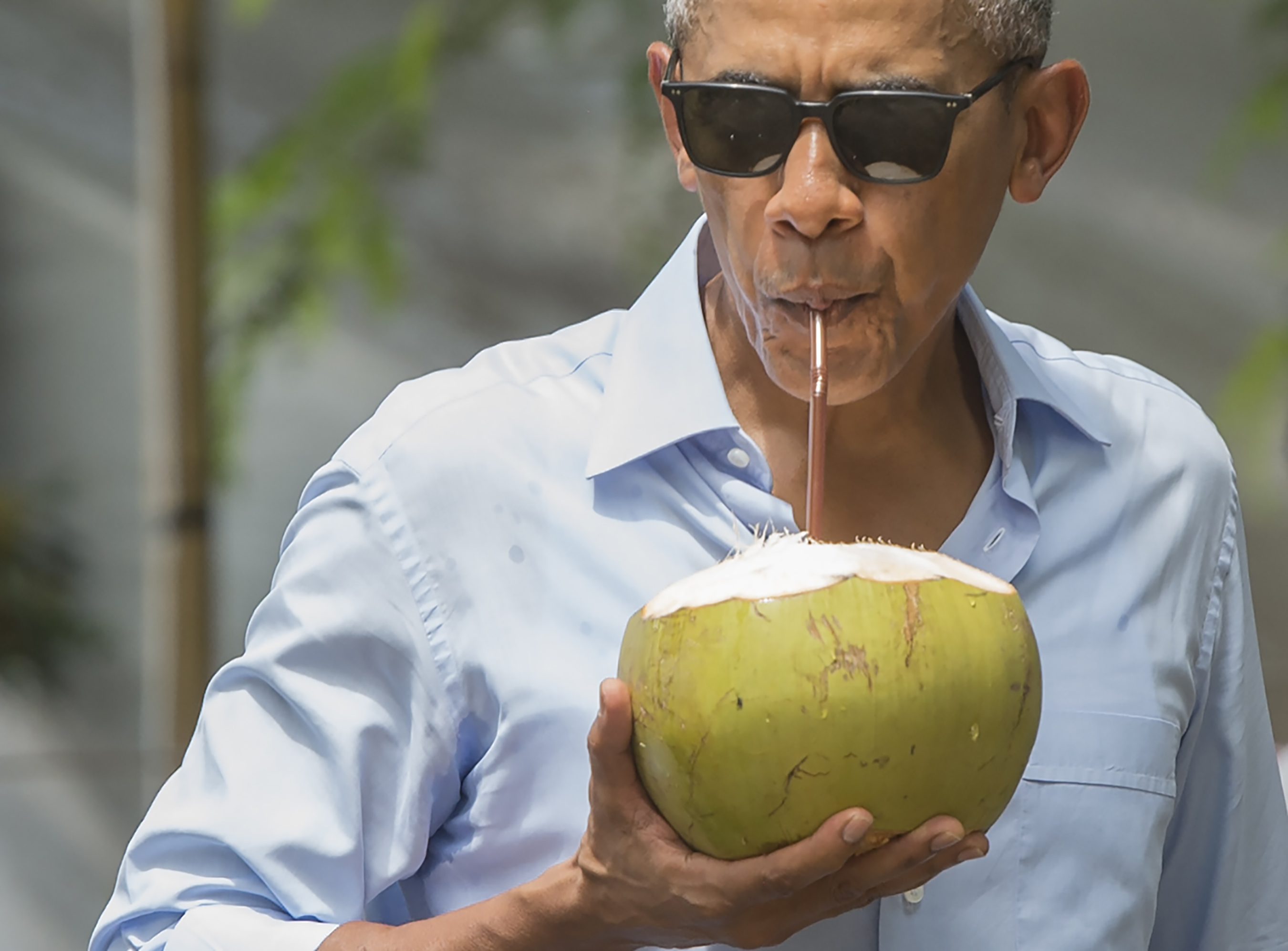 See Obama Drink From A Coconut In Laos & 12 Other Times He Looked ...